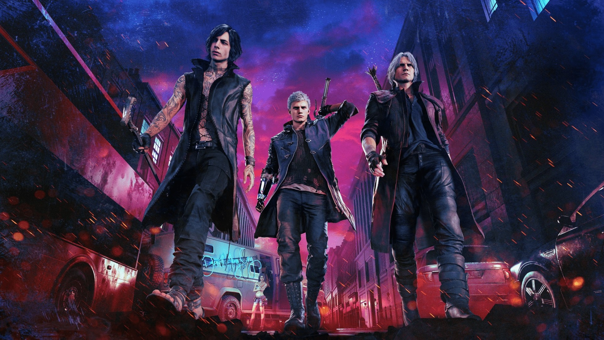 Devil May Cry vertical wallpaper hd