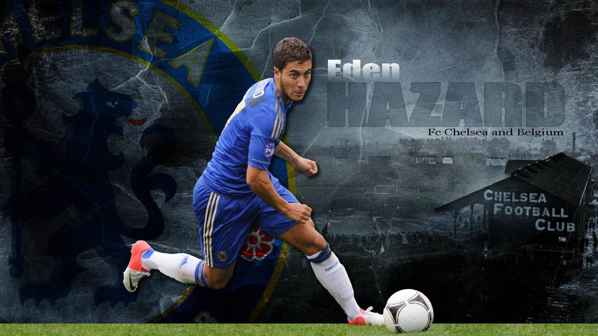 Eden Hazard Background Wallpaper