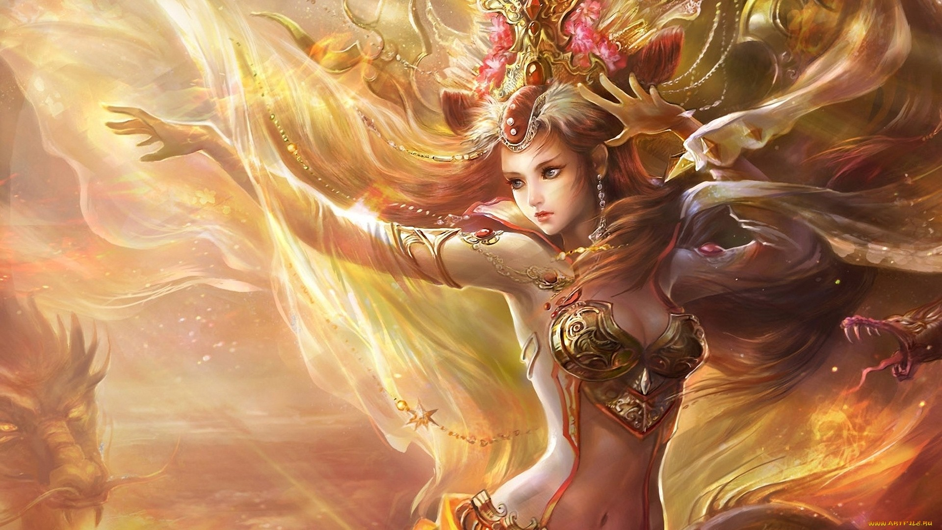 Fantasy Girl desktop wallpaper