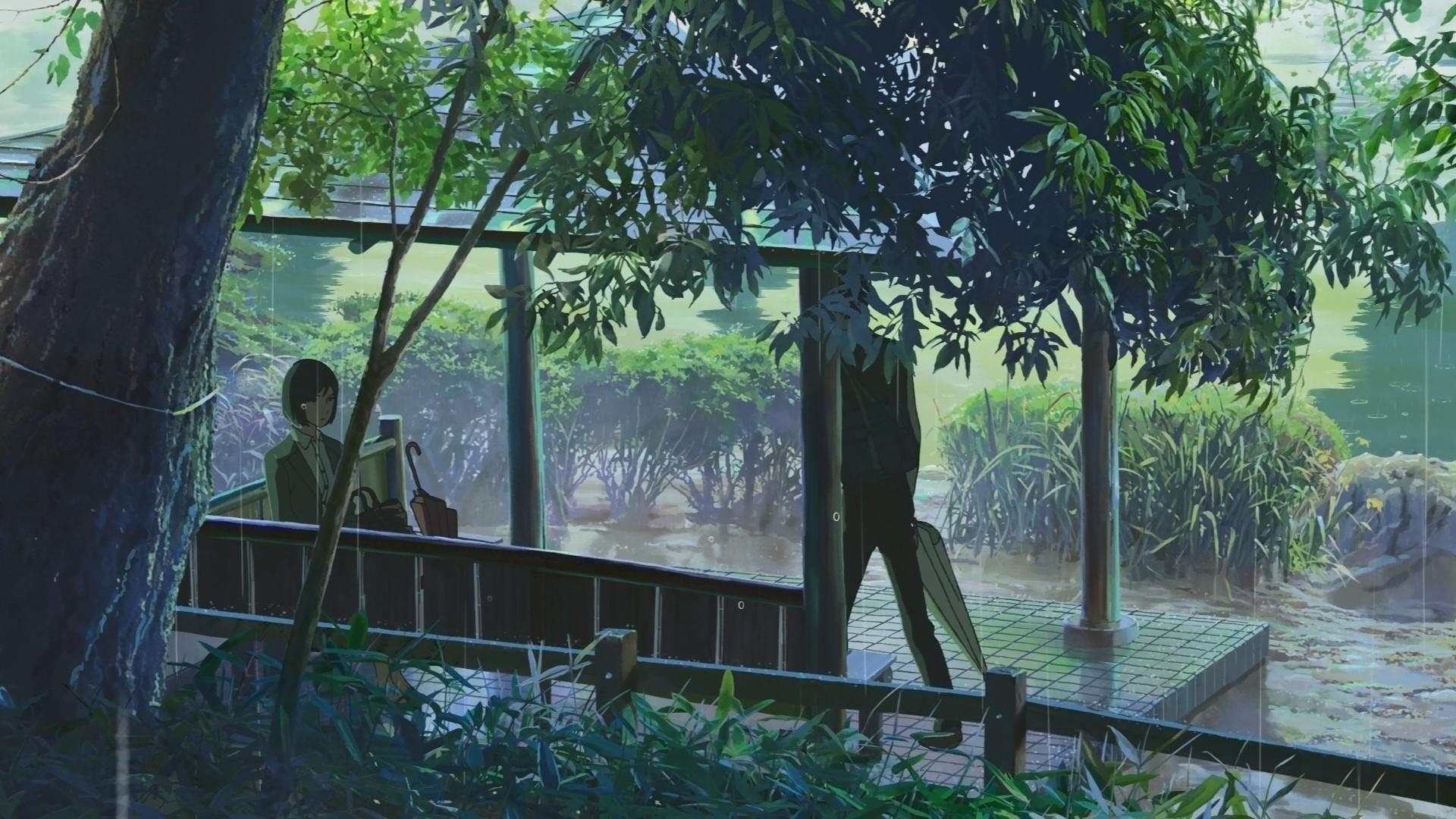 Garden Of Words wallpaper image
