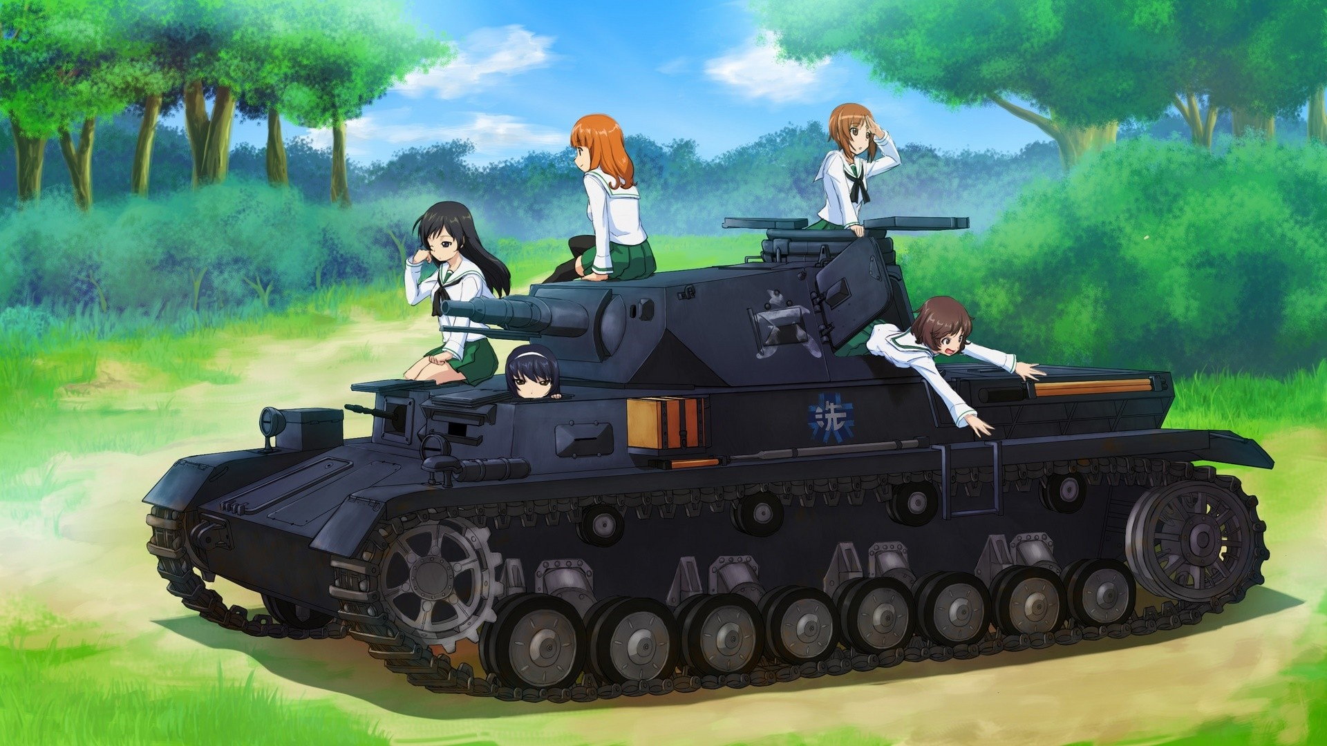Girls Und Panzer Wallpaper Picture