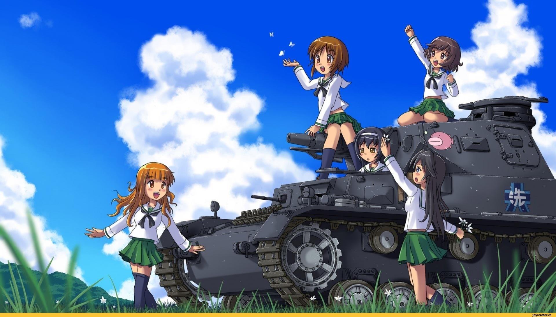 Girls Und Panzer full wallpaper