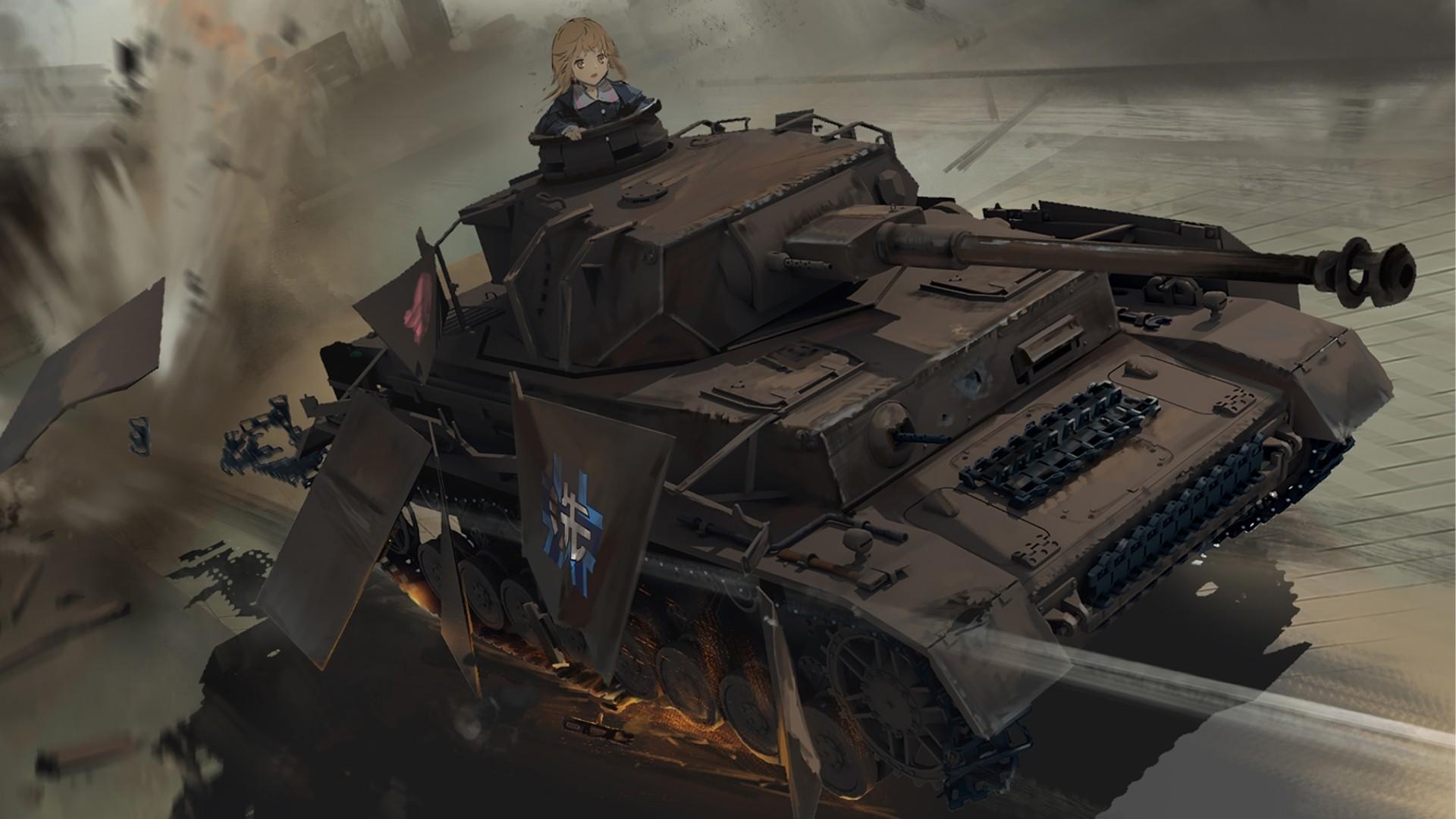 Girls Und Panzer HD Wallpaper Download