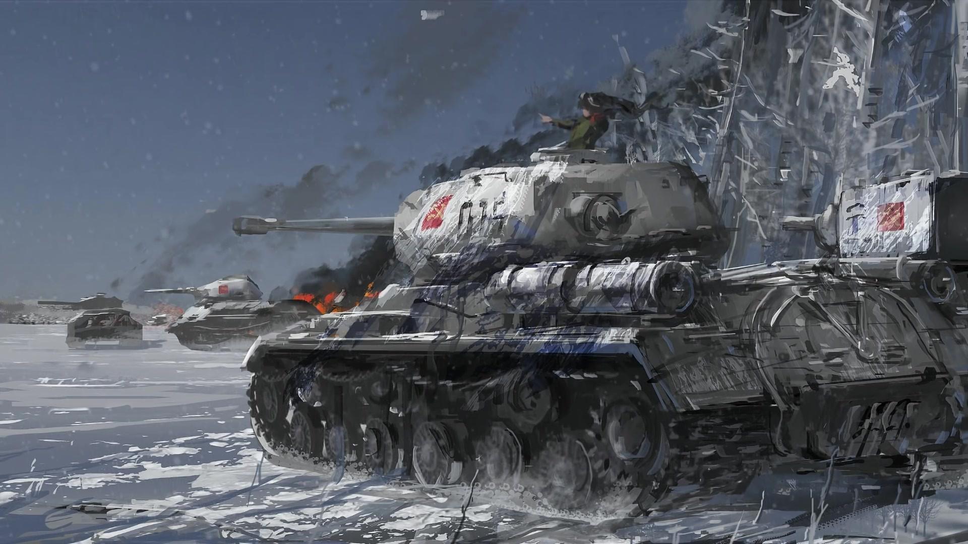 Girls Und Panzer New Wallpaper