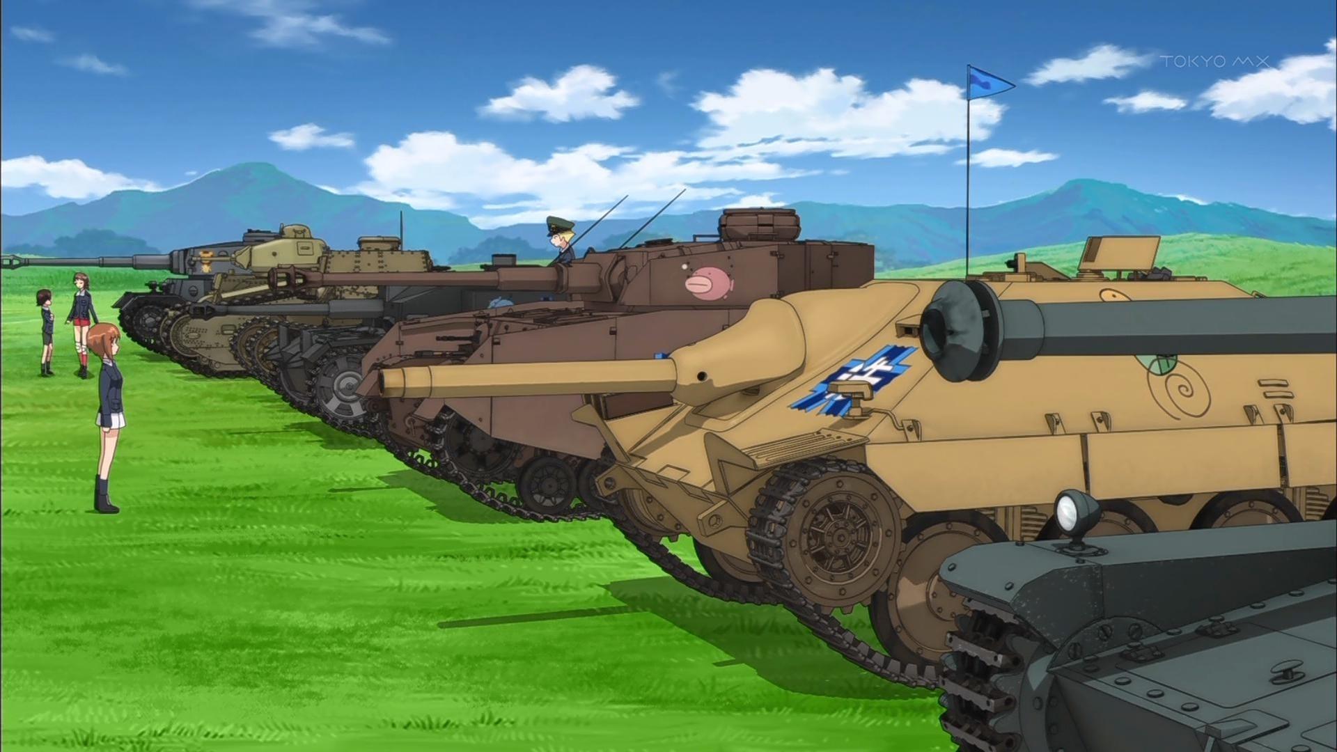 Girls Und Panzer desktop wallpaper