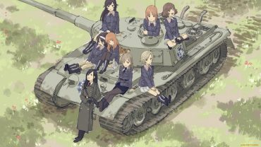 Girls Und Panzer background wallpaper