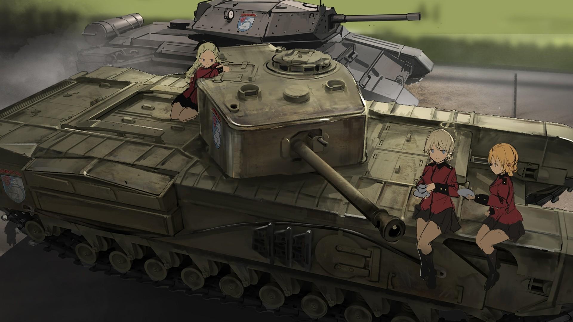 Girls Und Panzer HD Wallpaper