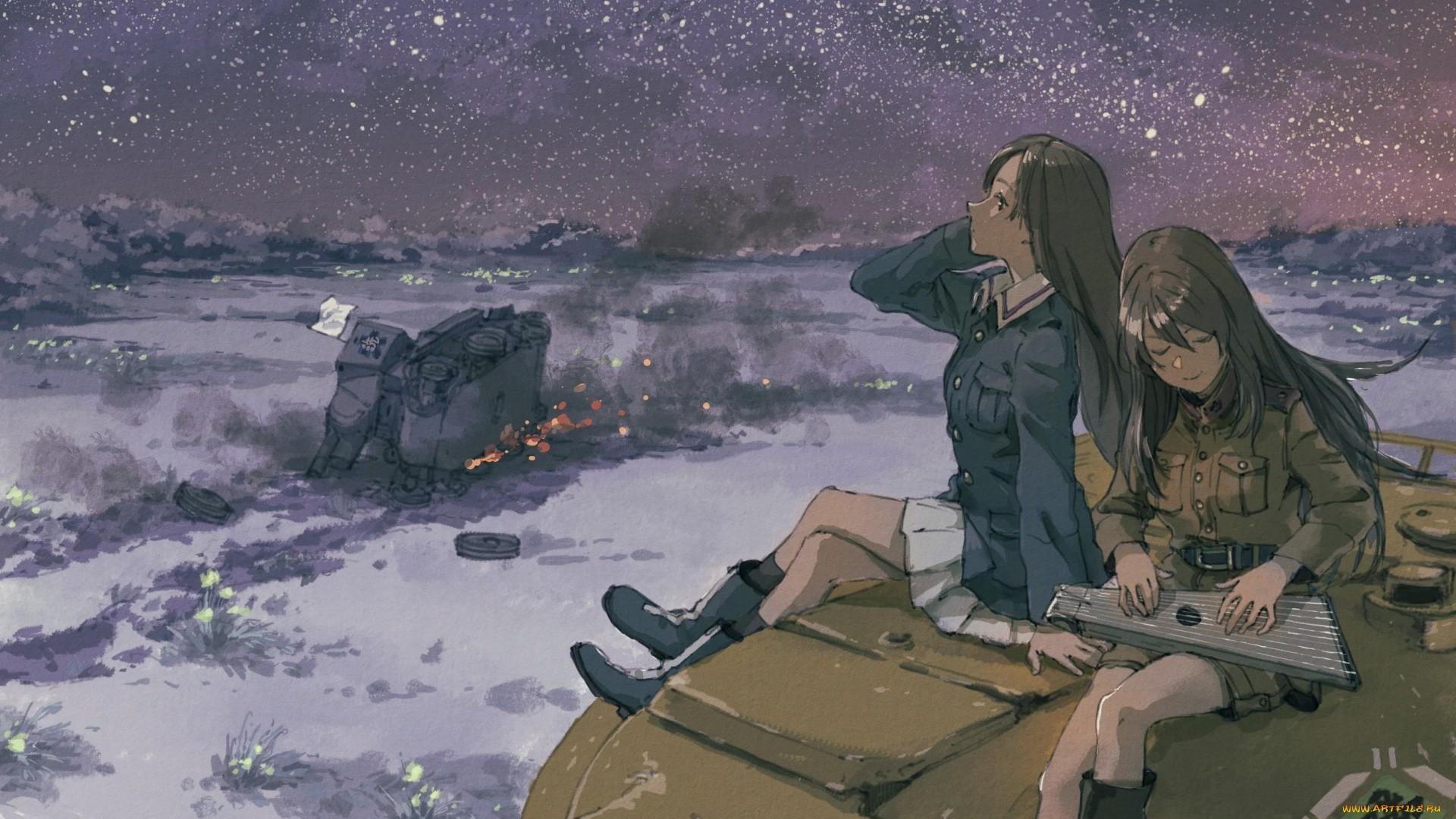 Girls Und Panzer Free Desktop Wallpaper