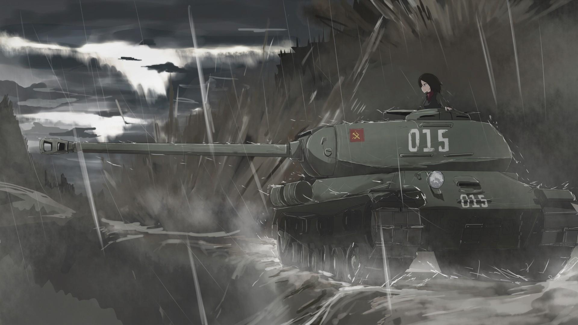 Girls Und Panzer computer Wallpaper