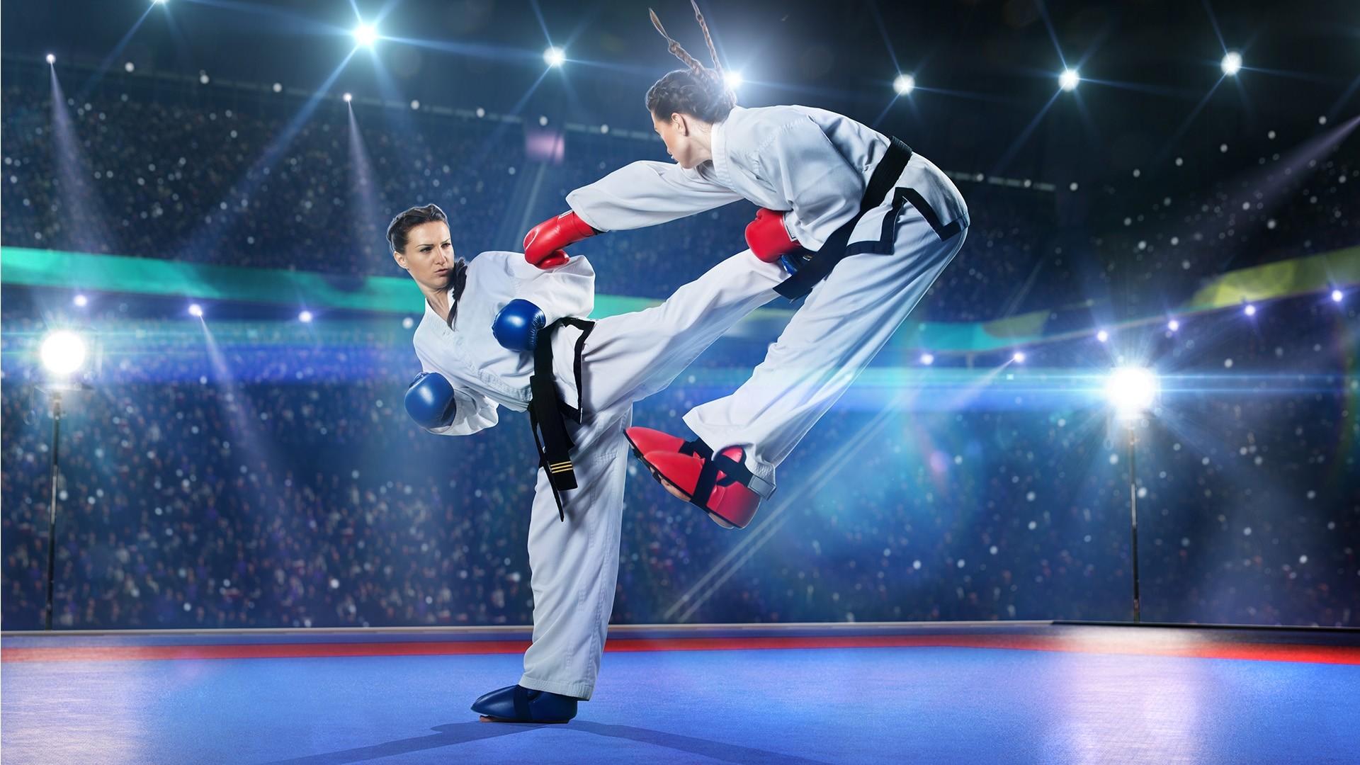 Karate PC Wallpaper