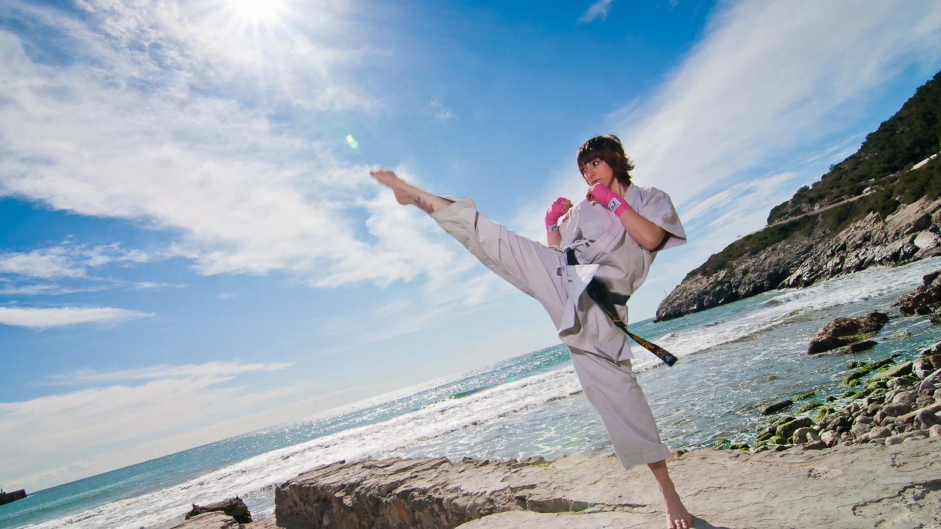 Karate Free Wallpaper