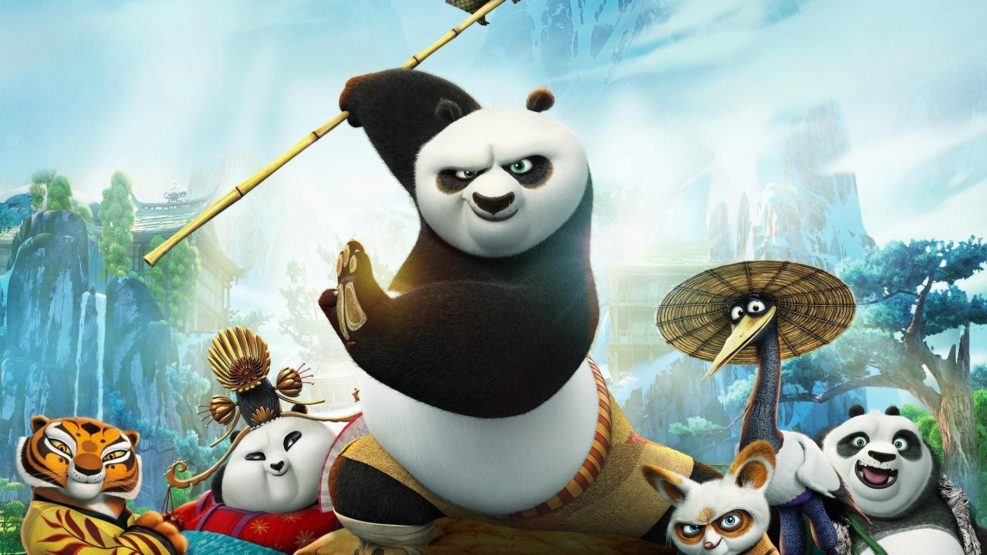 Kung Fu Panda hd wallpaper for laptop