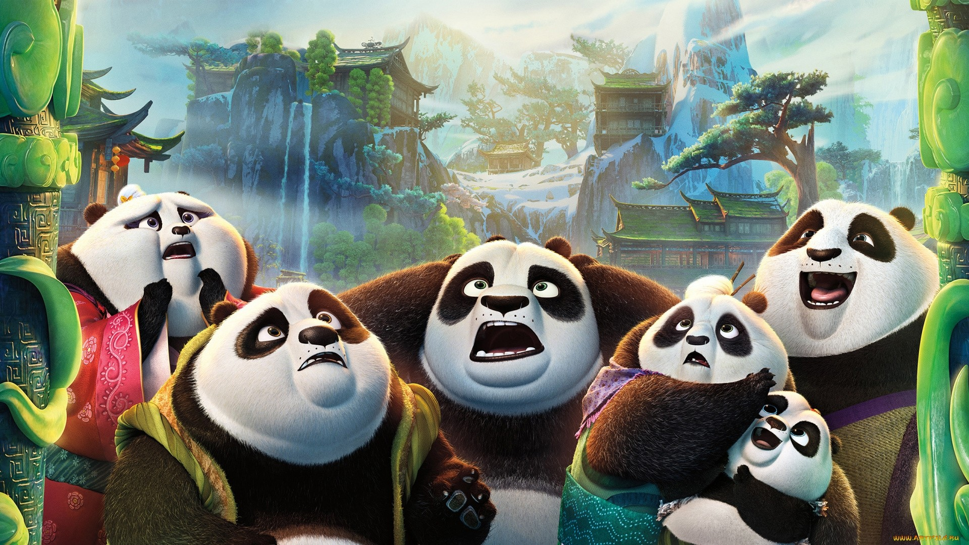 Kung Fu Panda screen wallpaper