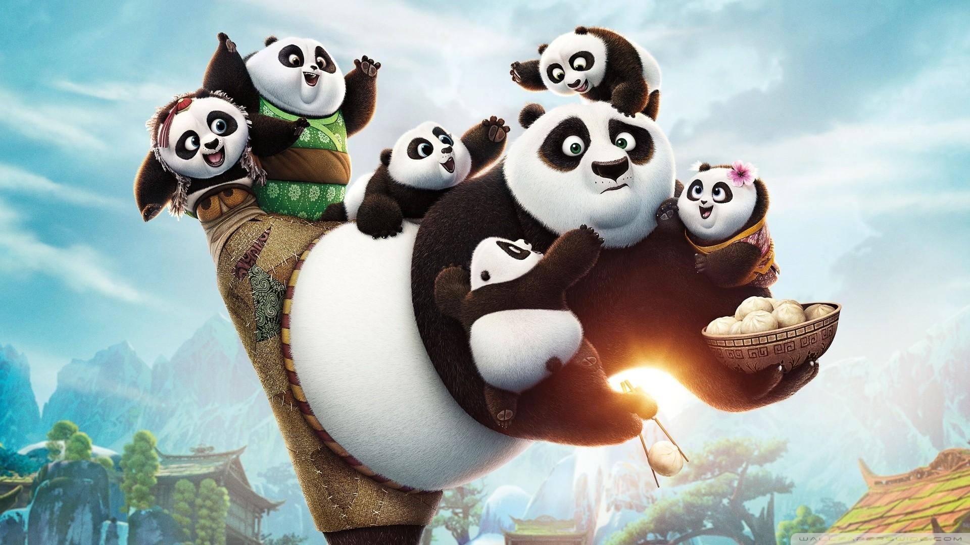 Kung Fu Panda PC Wallpaper