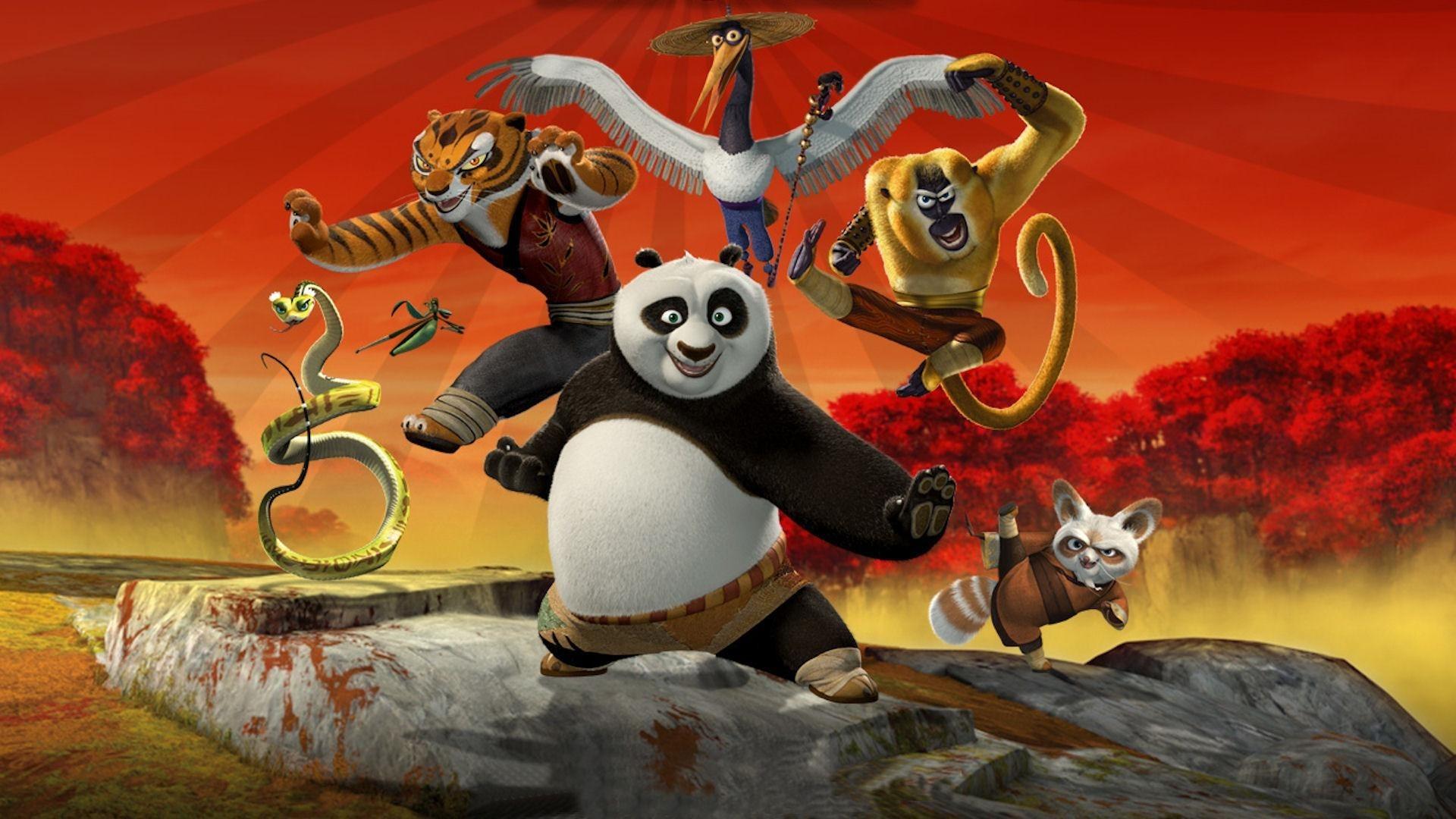 Kung Fu Panda desktop wallpaper download