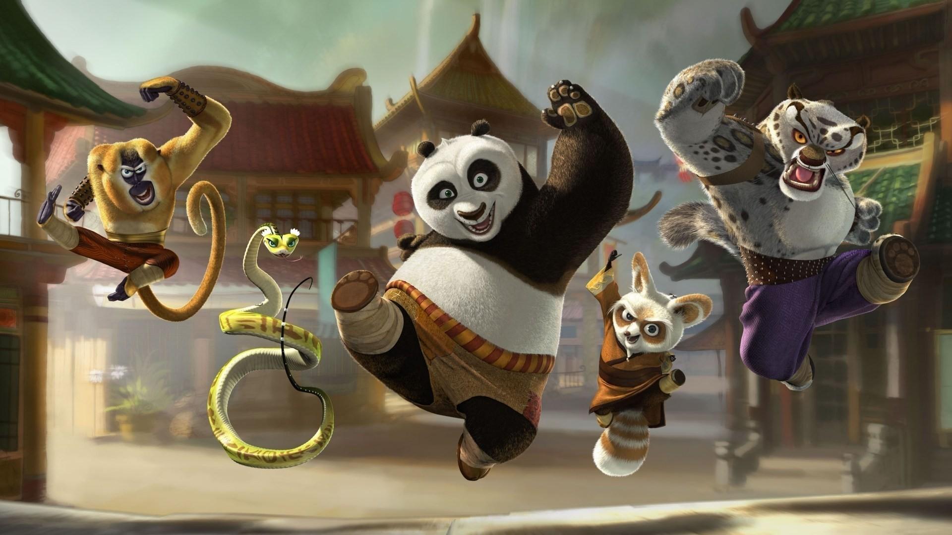 Kung Fu Panda wallpaper theme