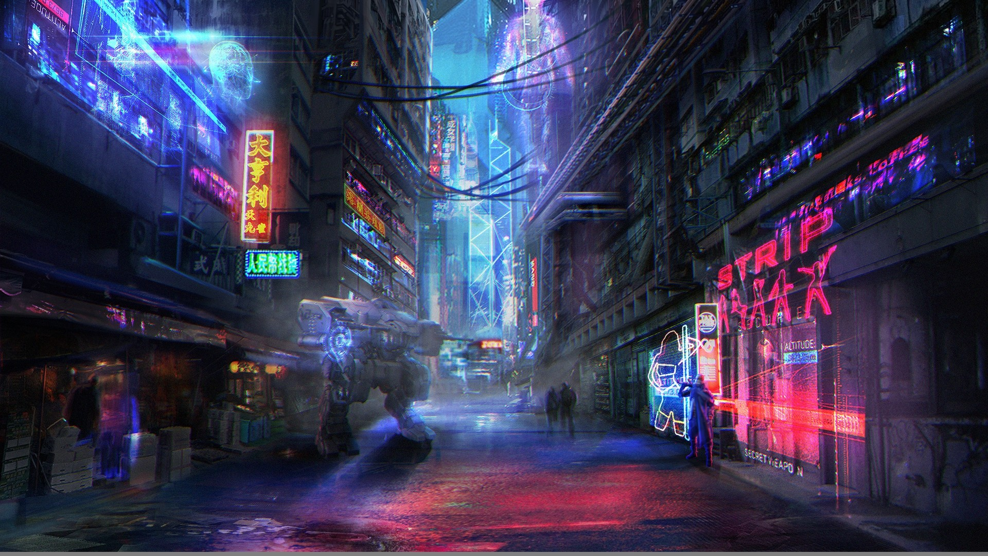 Neon City High Quality