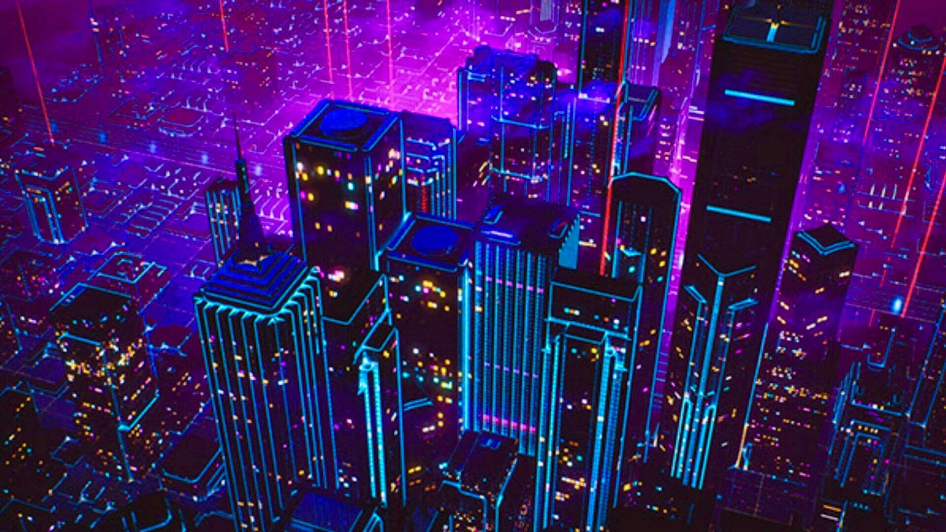 Neon City Wallpapers (21+ images) - WallpaperBoat