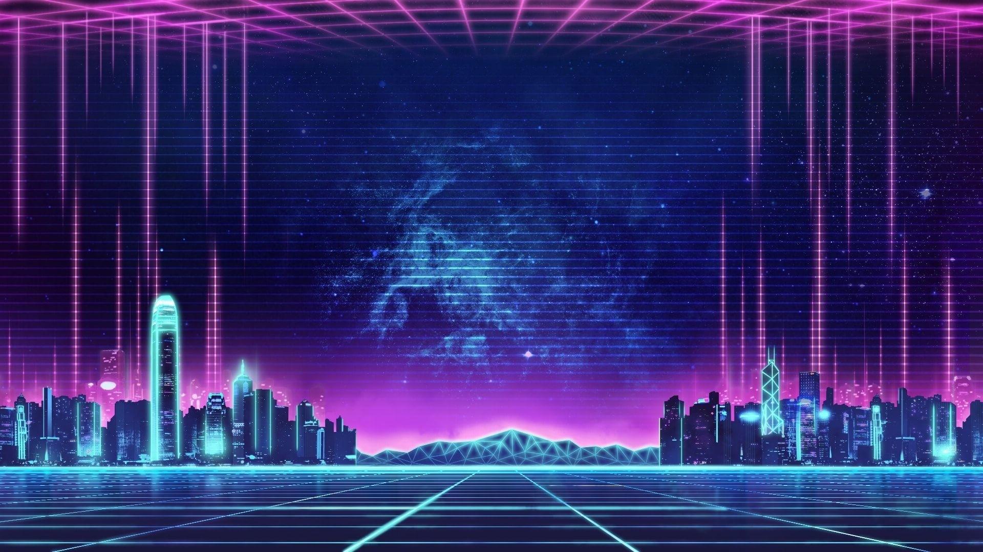 Neon City New Wallpaper