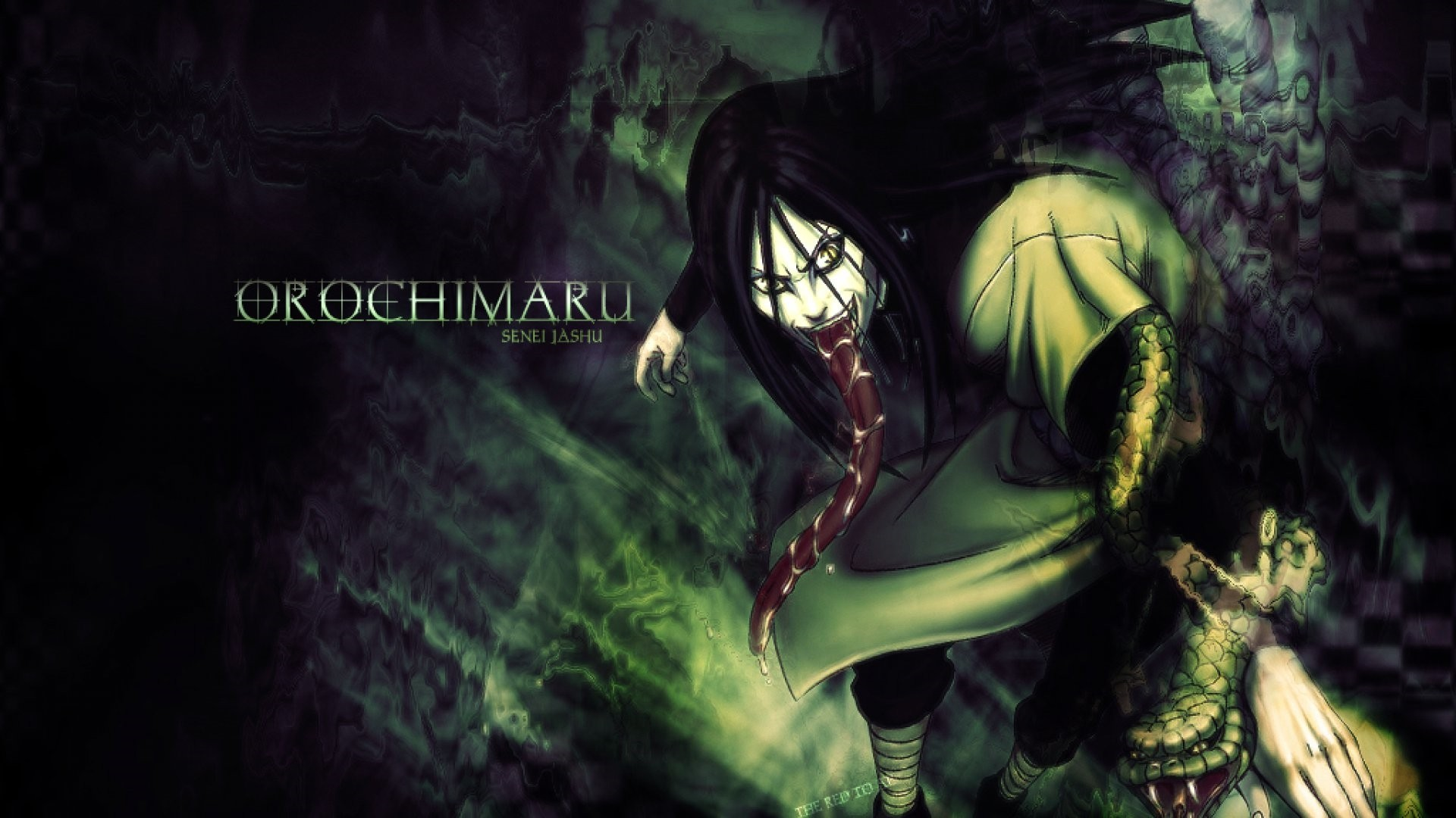 Orochimaru full hd 1080p wallpaper