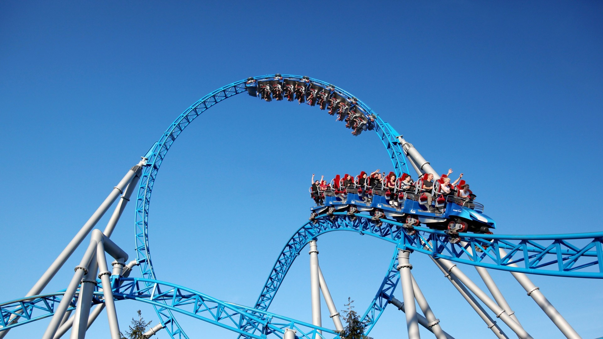 Roller Coaster Cool HD Wallpaper