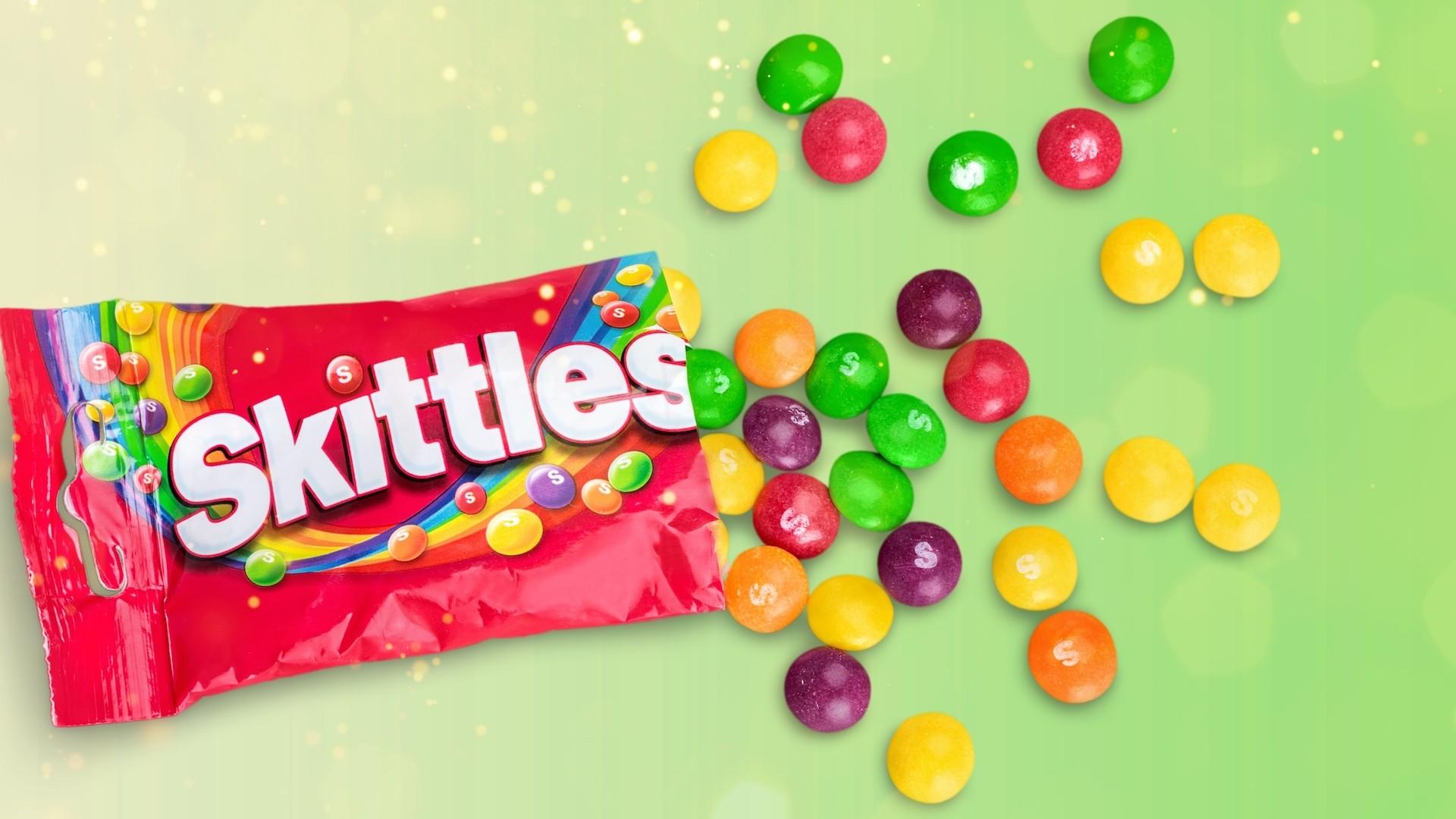 Skittles free hd wallpaper