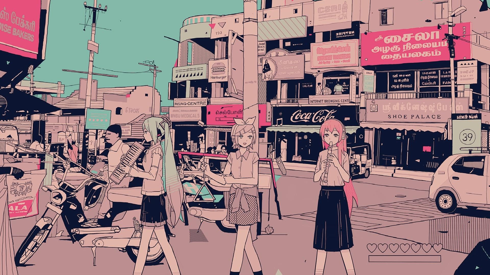 Aesthetic Anime HD Wallpaper