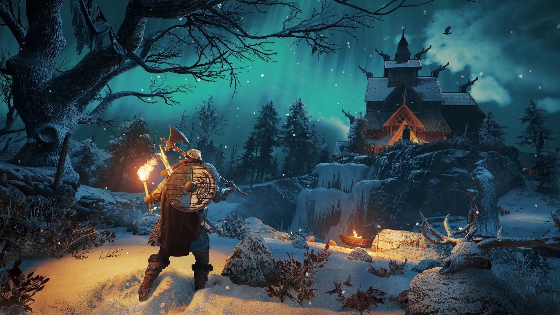 Assassins Creed Valhalla Full HD Wallpaper