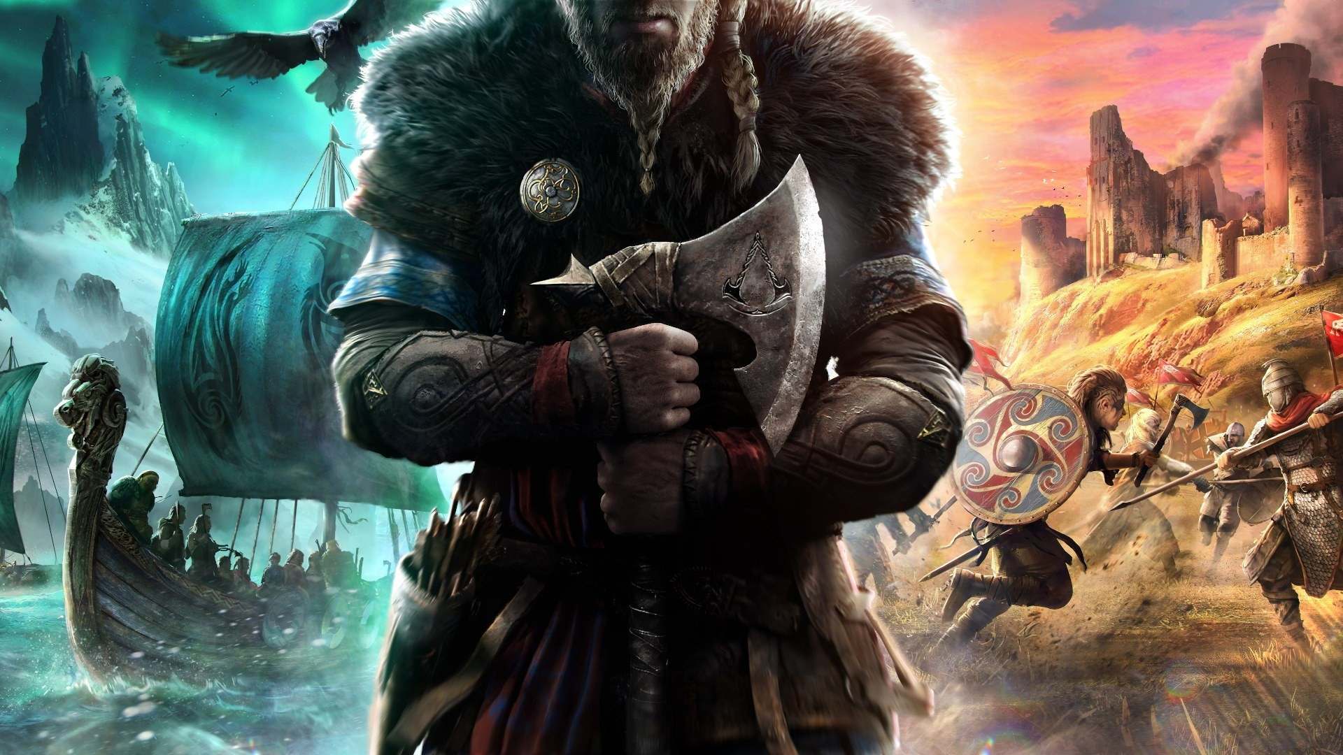 Assassins Creed Valhalla PC Wallpaper HD