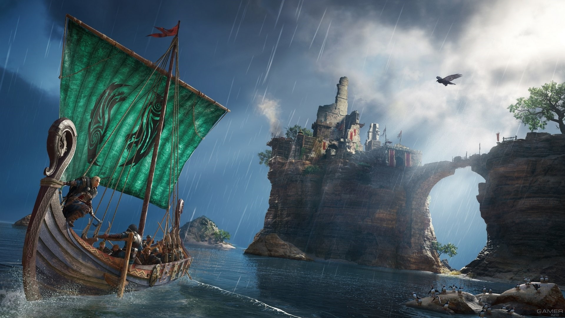 Assassins Creed Valhalla Background