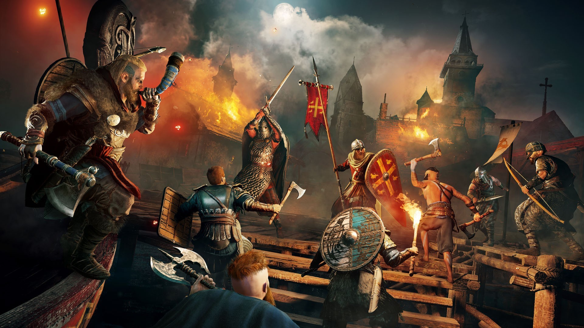 Assassins Creed Valhalla hd desktop wallpaper