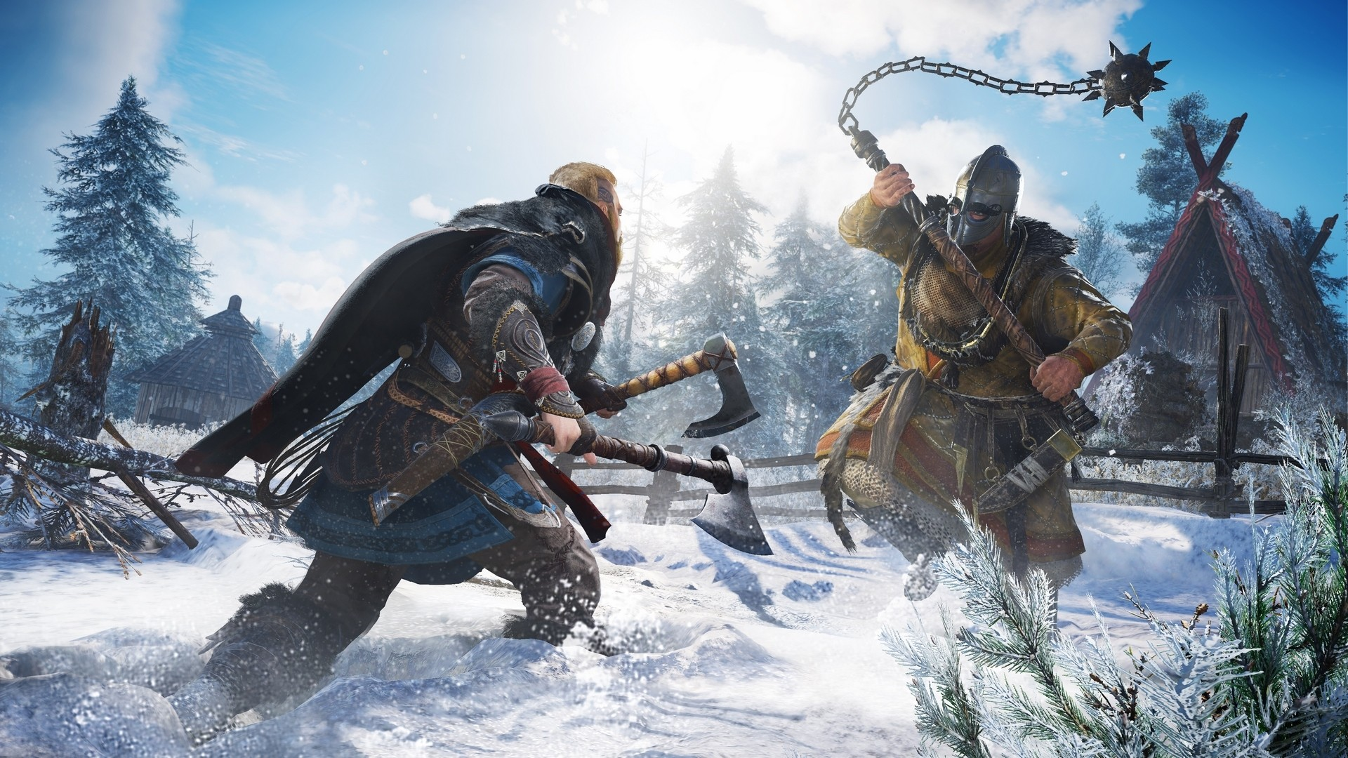 Assassins Creed Valhalla Wallpaper theme