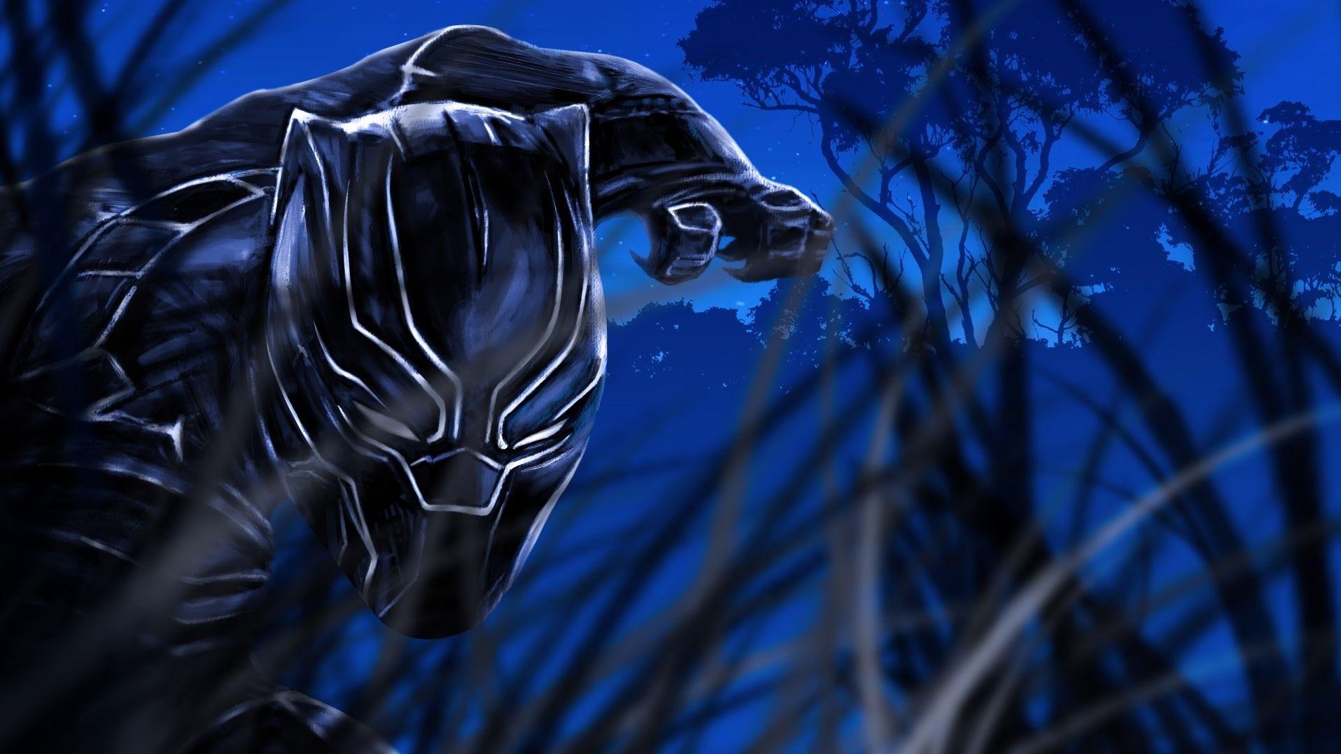 Black Panther Wallpaper image hd