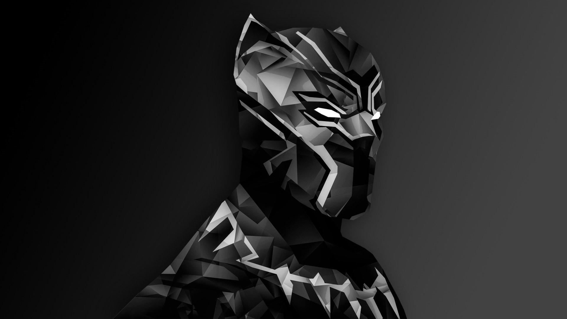Black Panther hd desktop wallpaper