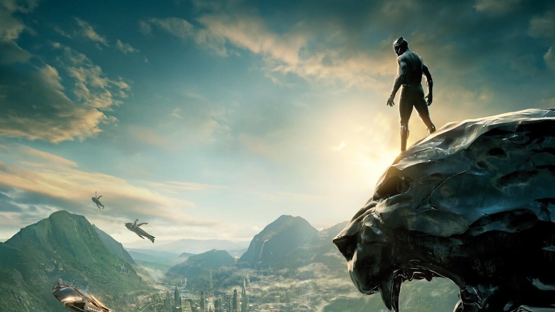 Black Panther Background Wallpaper