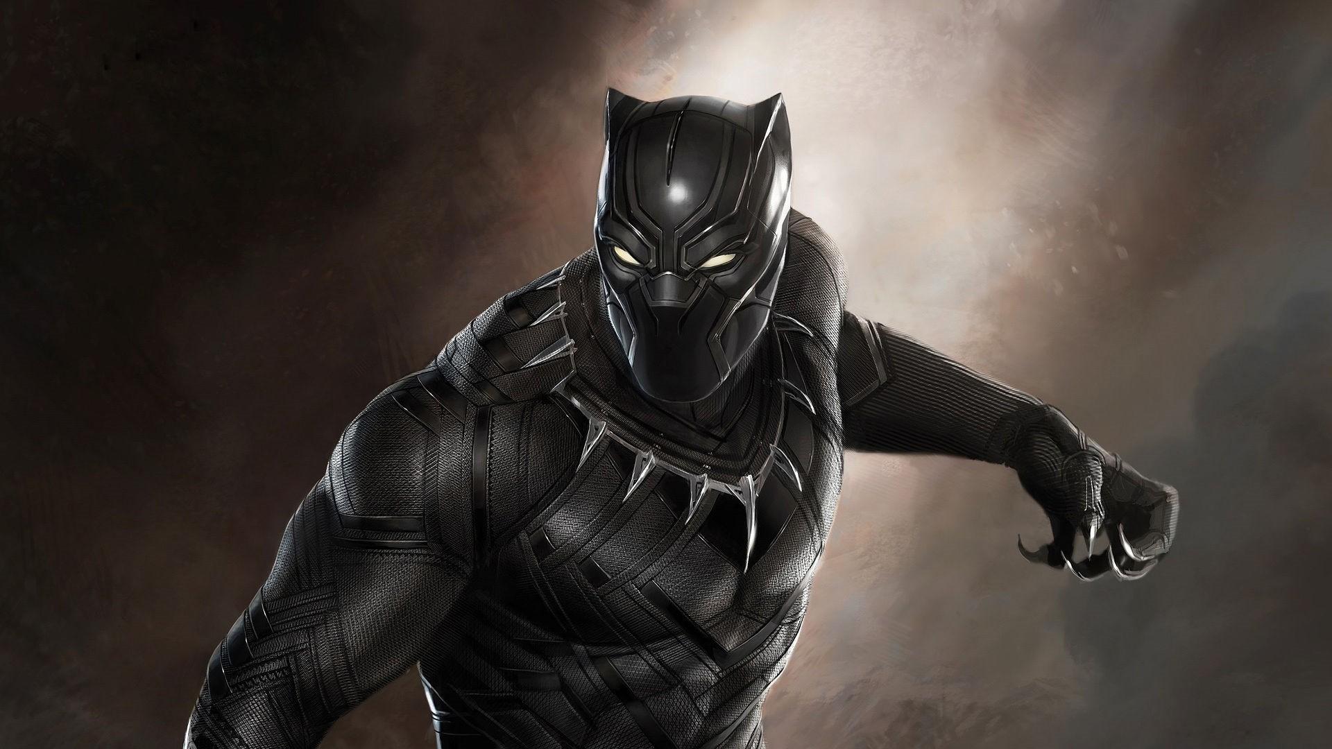 Black Panther computer wallpaper