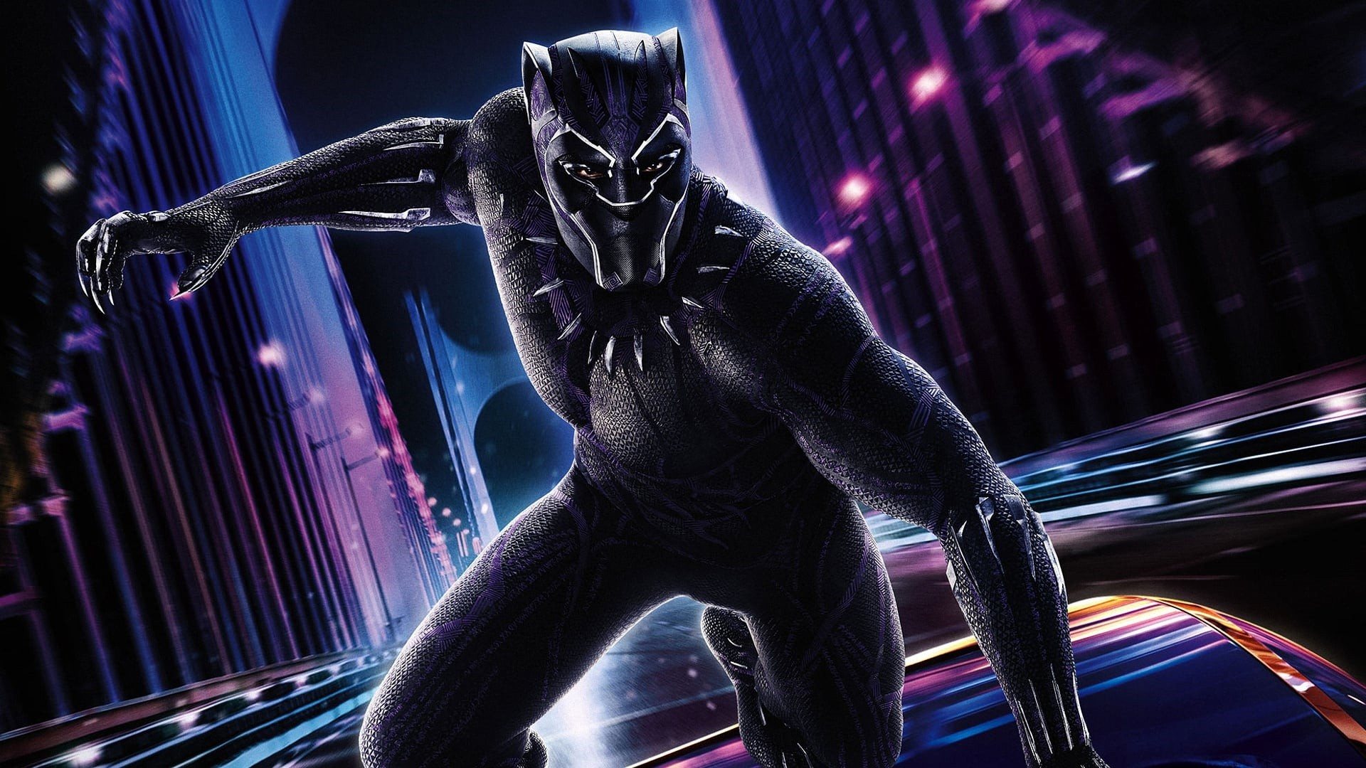 Black Panther Free Wallpaper