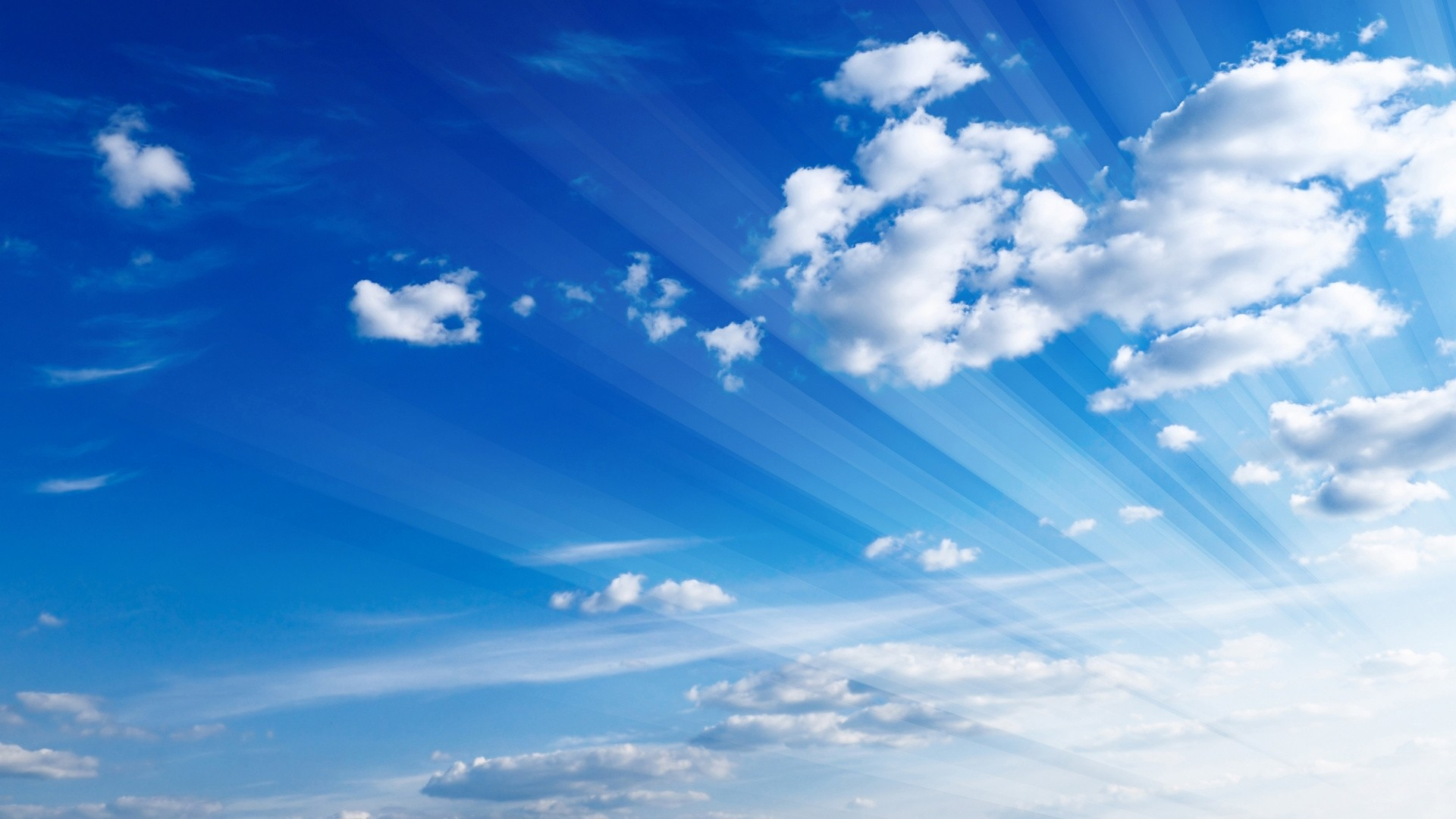 Blue Cloud Free Wallpaper