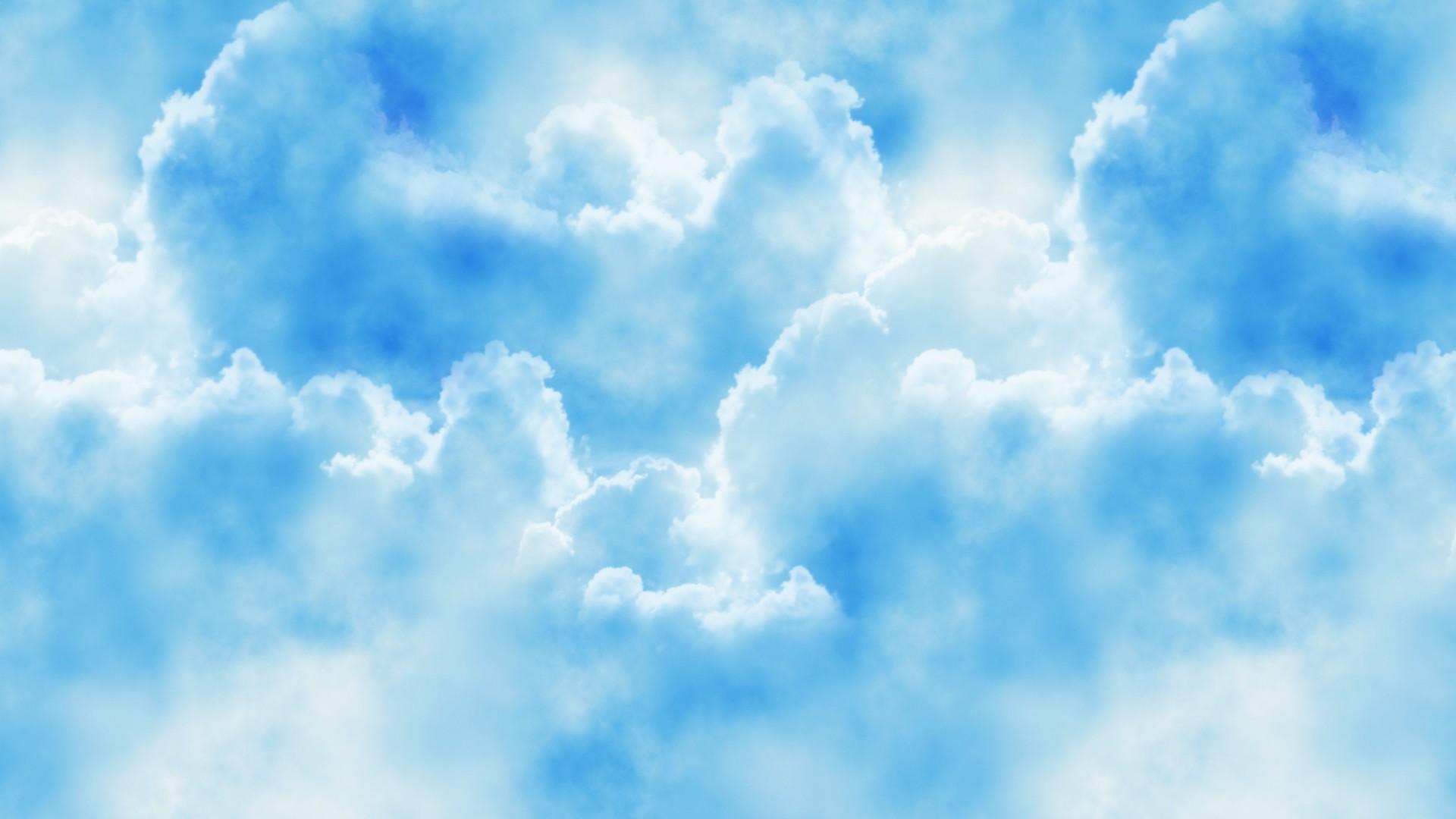 Blue Cloud wallpaper photo hd