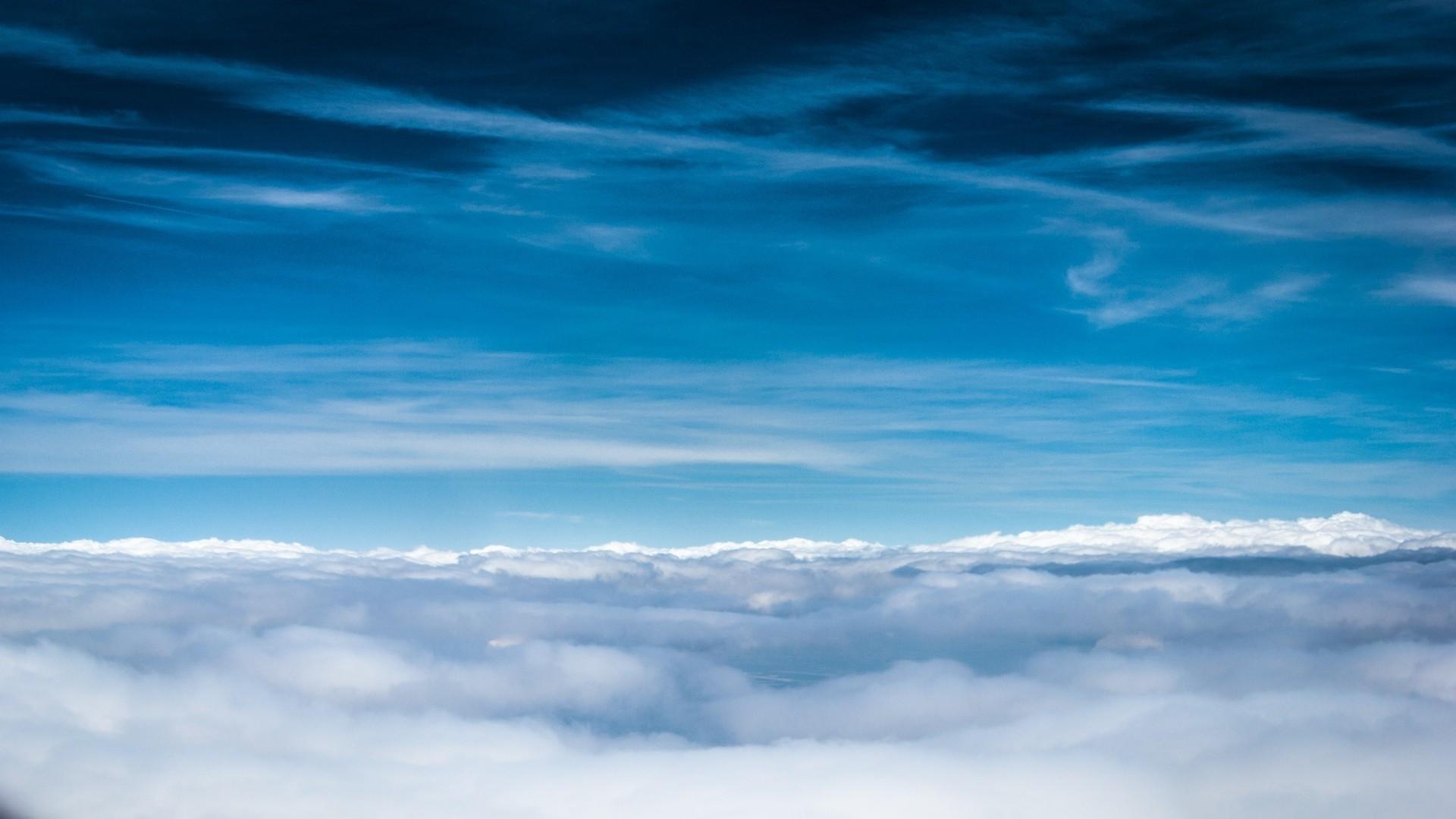 Blue Cloud Wallpaper image hd
