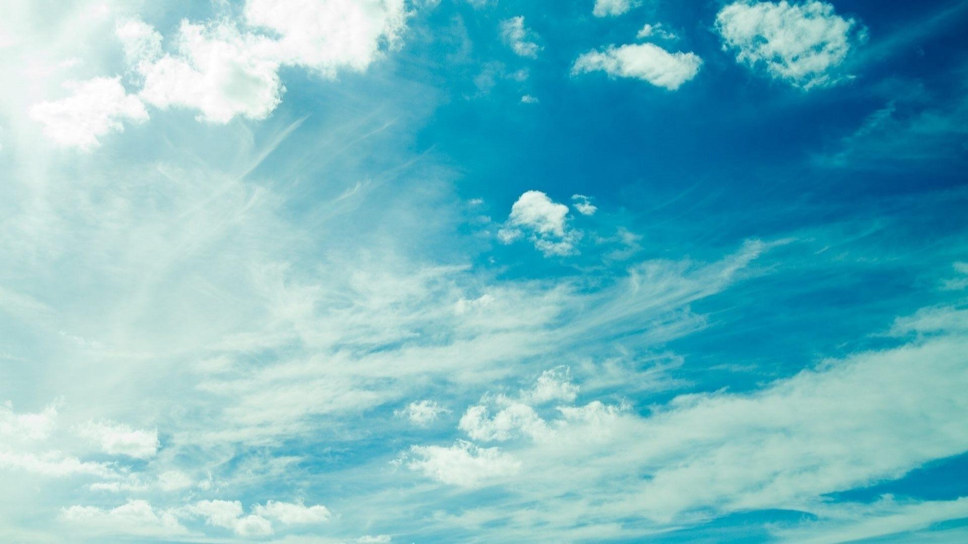 Blue Cloud computer wallpaper
