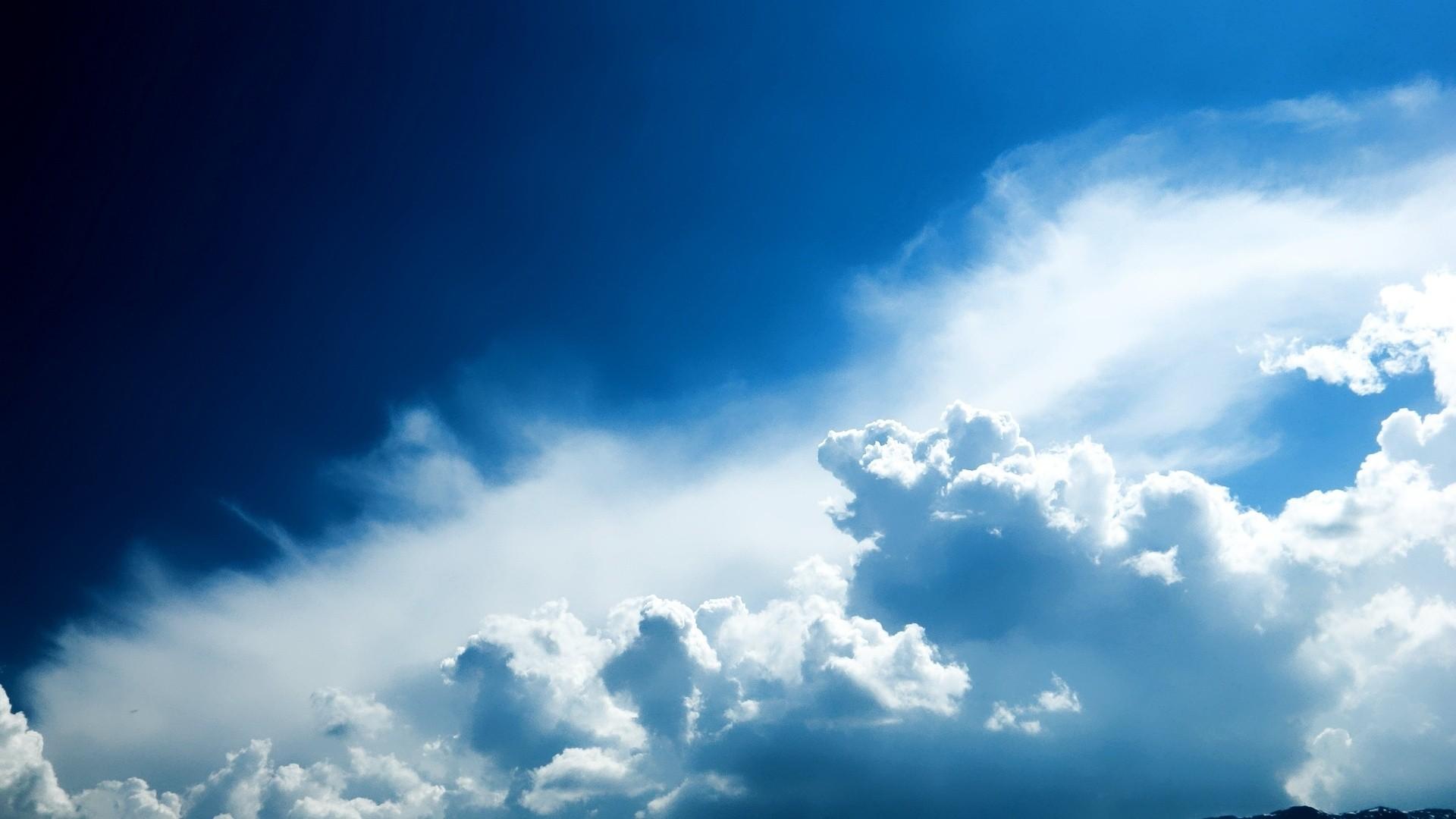 Blue Cloud Download Wallpaper