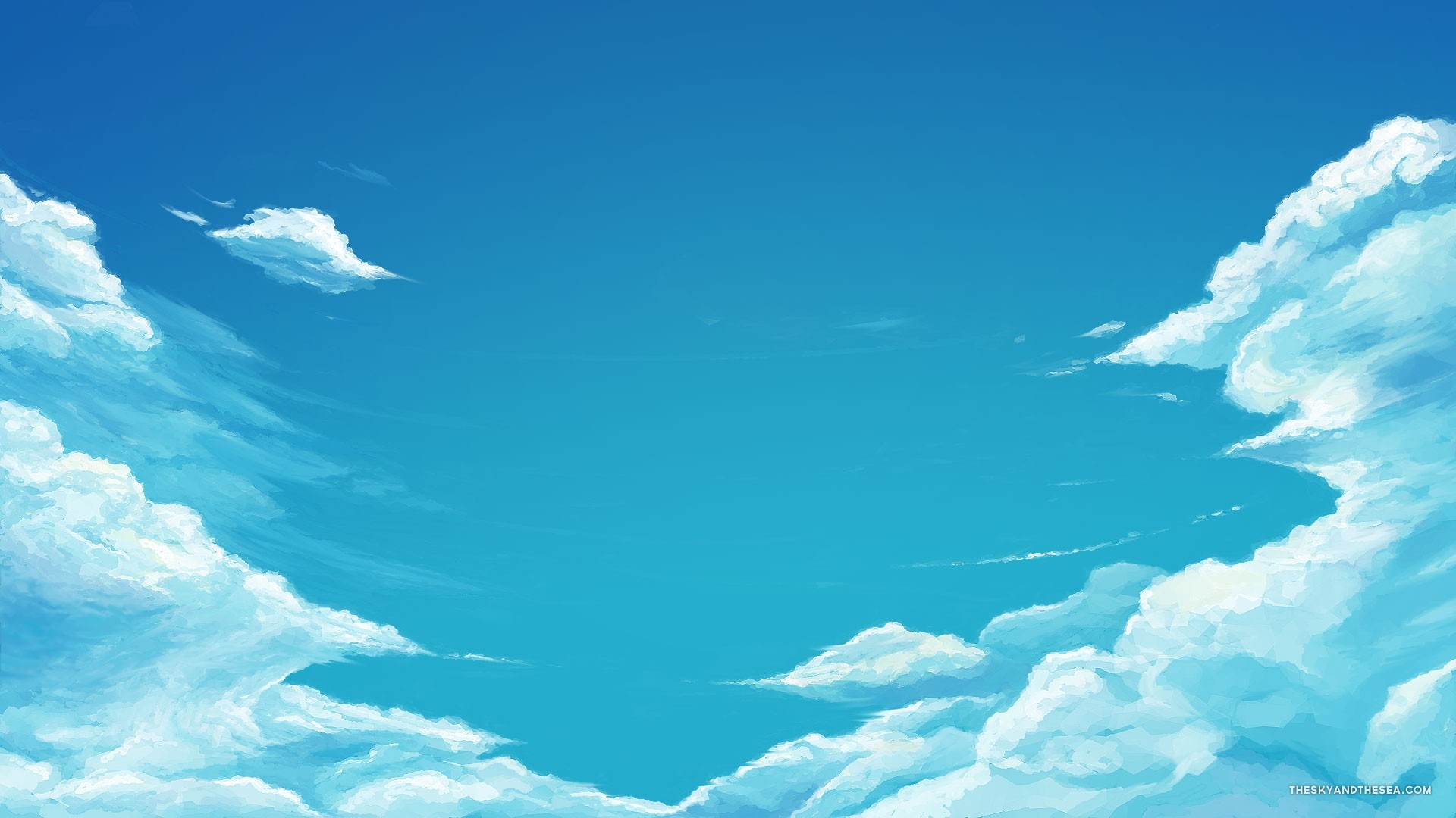 Blue Cloud PC Wallpaper