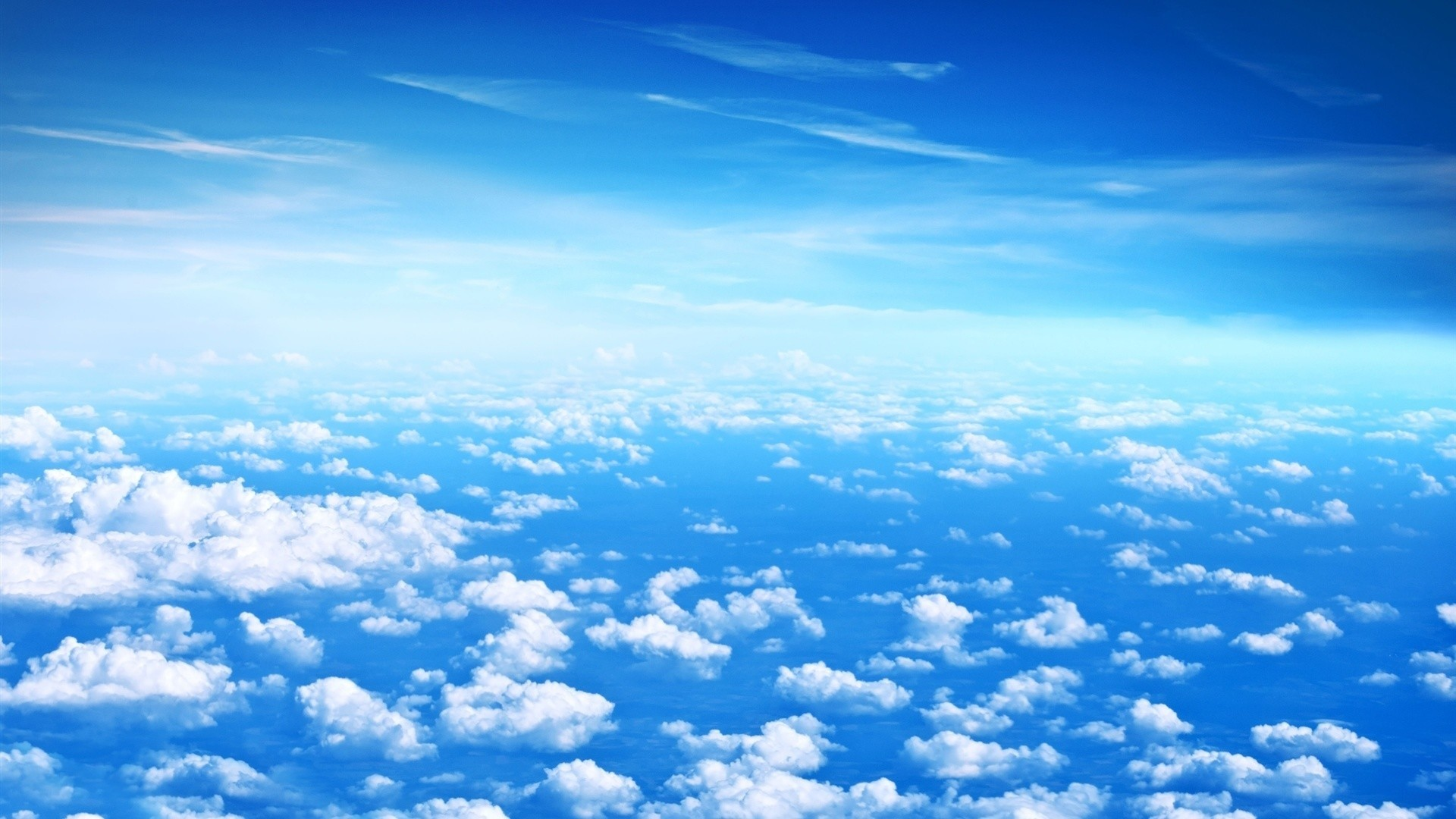 Blue Cloud PC Wallpaper HD