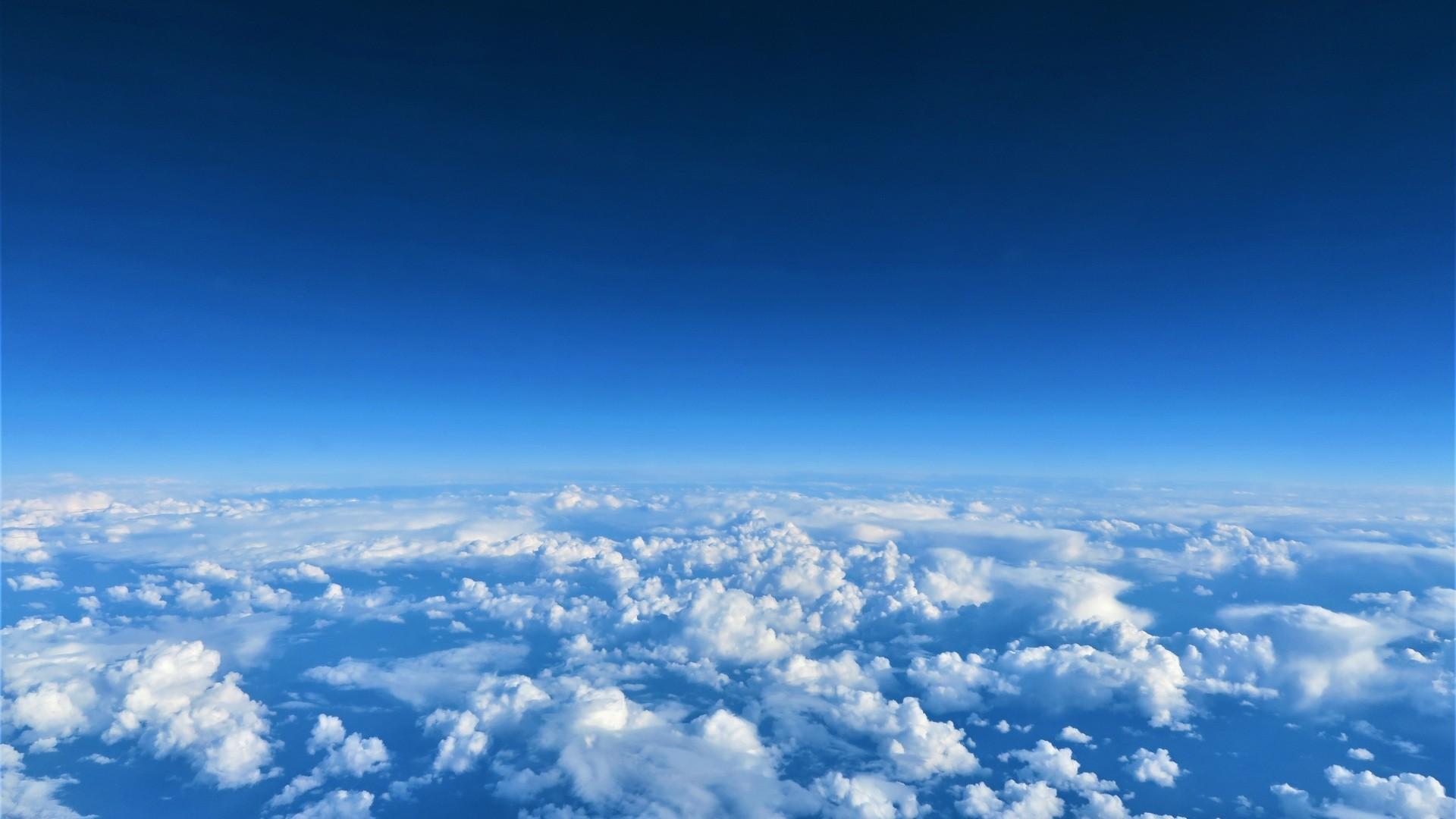 Blue Cloud a wallpaper