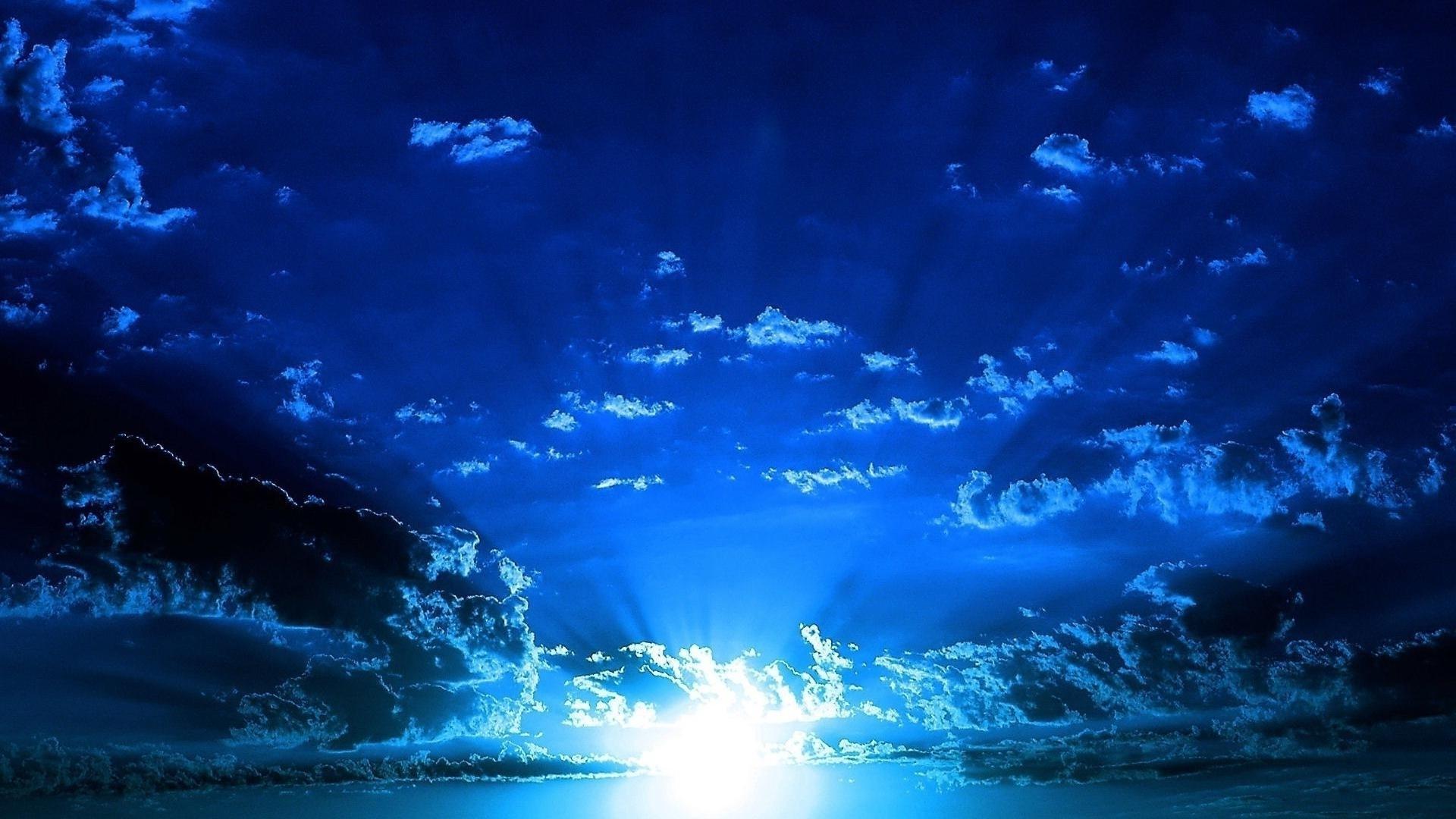 Blue Cloud Desktop Wallpaper