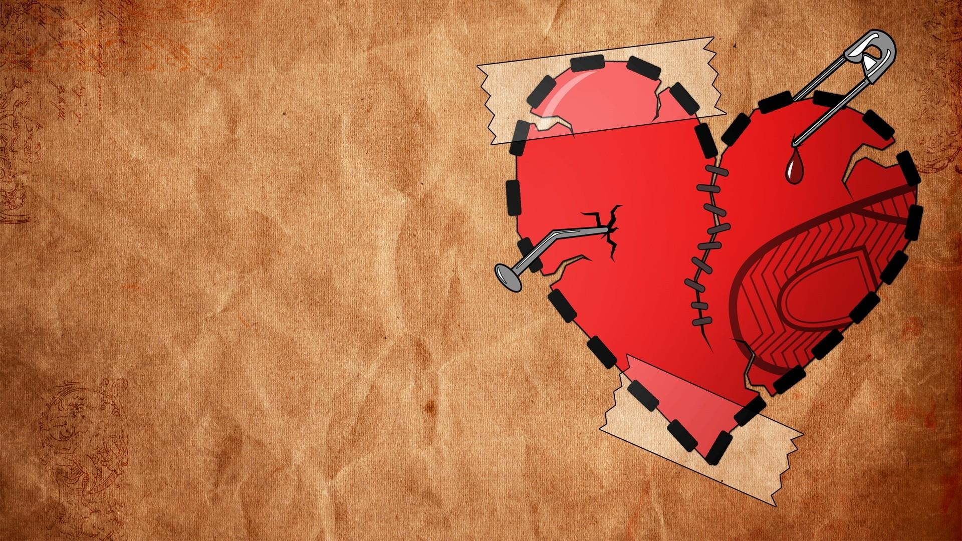 Broken Heart Free Wallpaper and Background