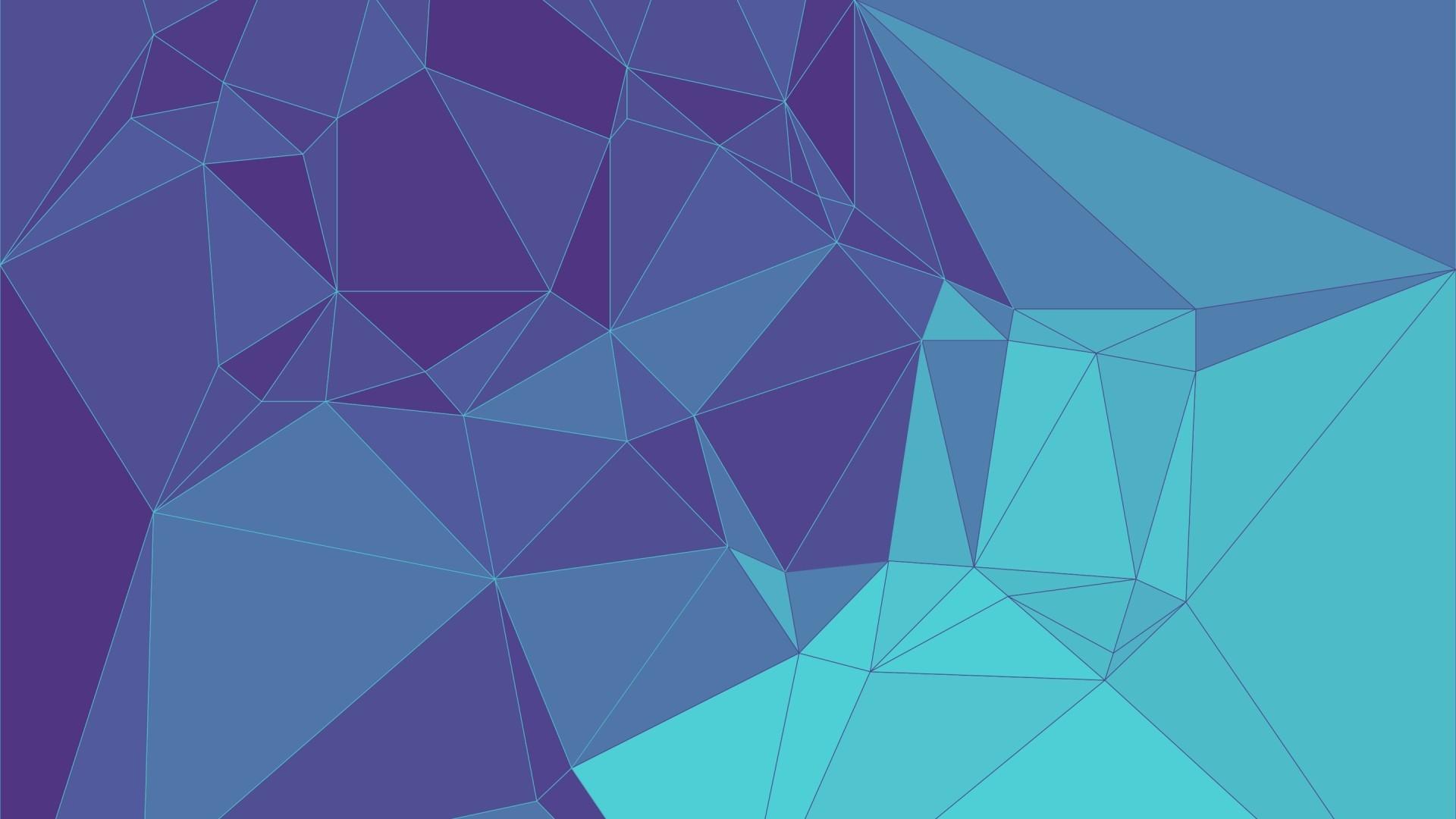 Geometric Full HD Wallpaper