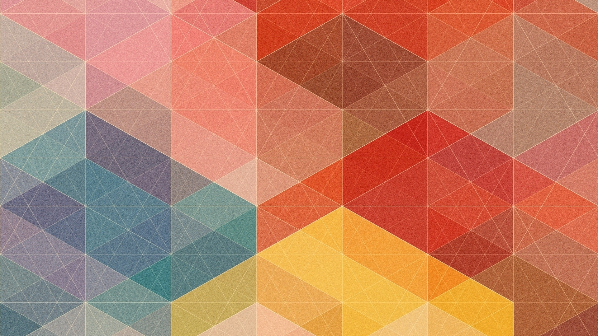 Geometric computer wallpaper