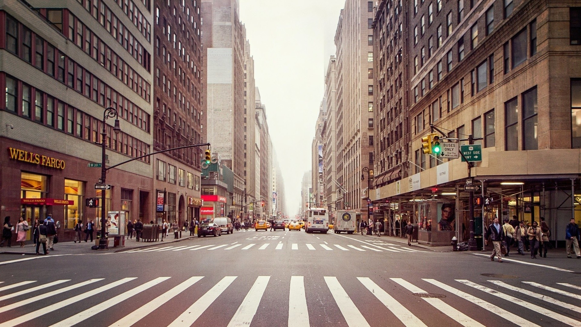 New York Street Picture